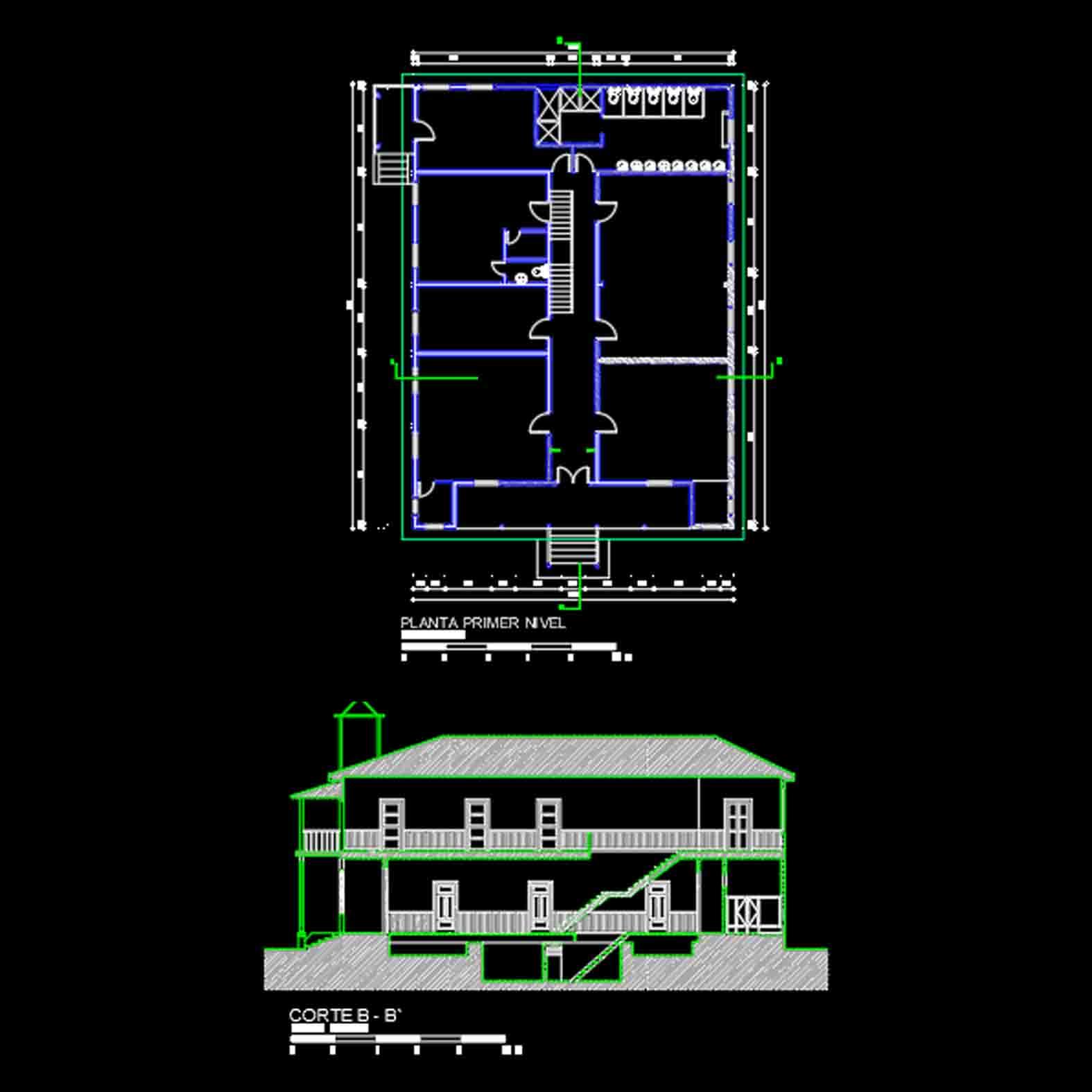 Plano: Casa Schmidlin / Purén
