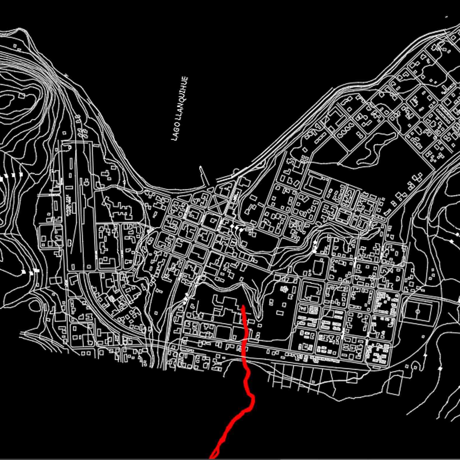 Plano: Ciudad de Puerto Varas