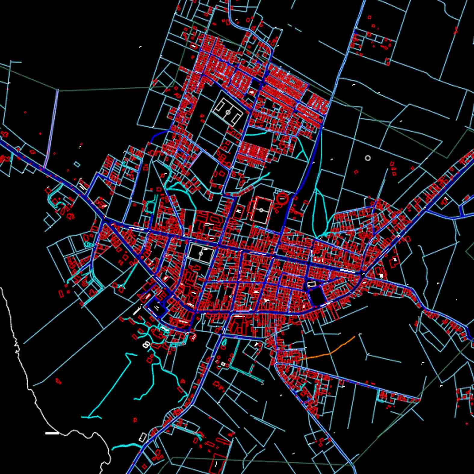 Plano: Ciudad de Futrono