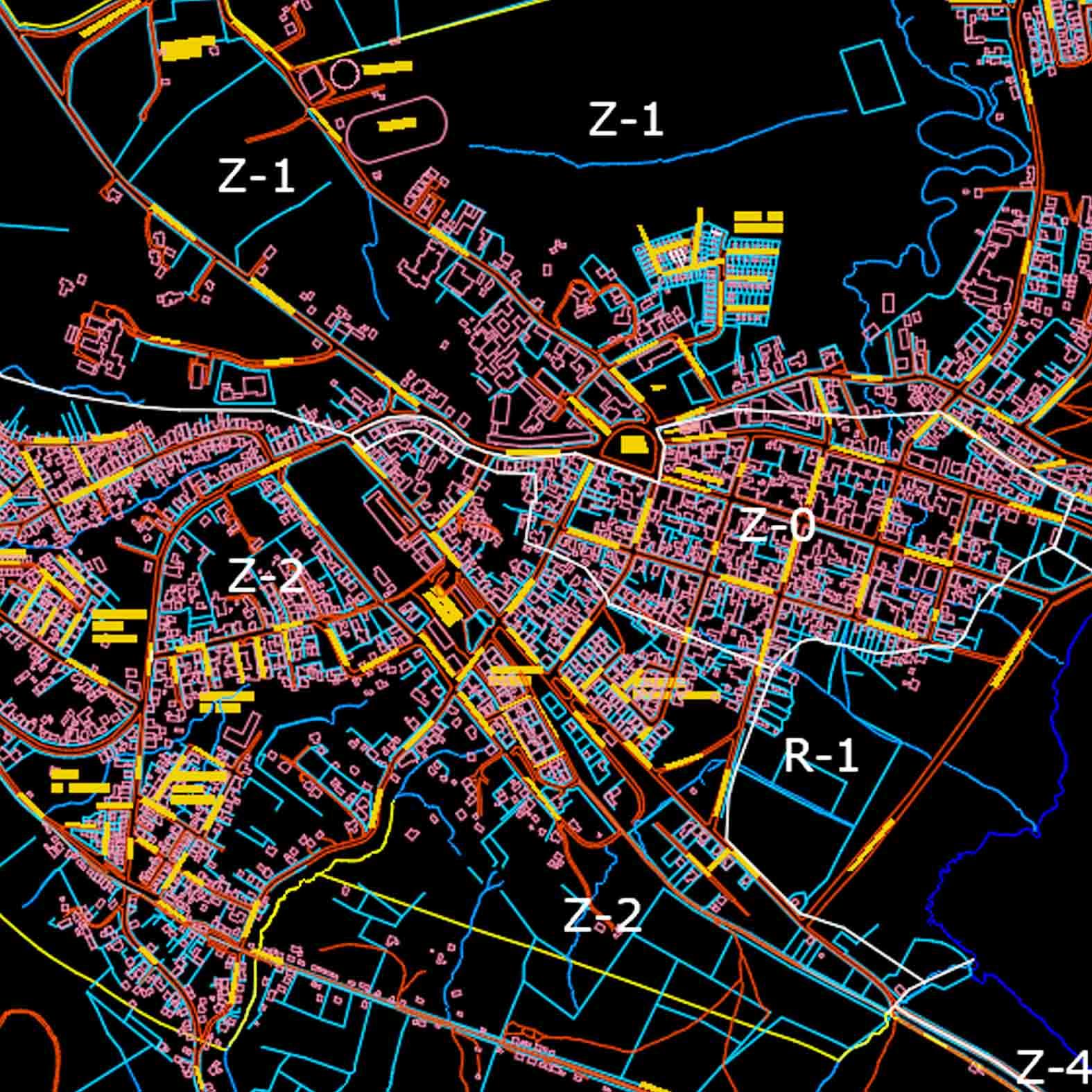 Plano: Ciudad de Panguipulli