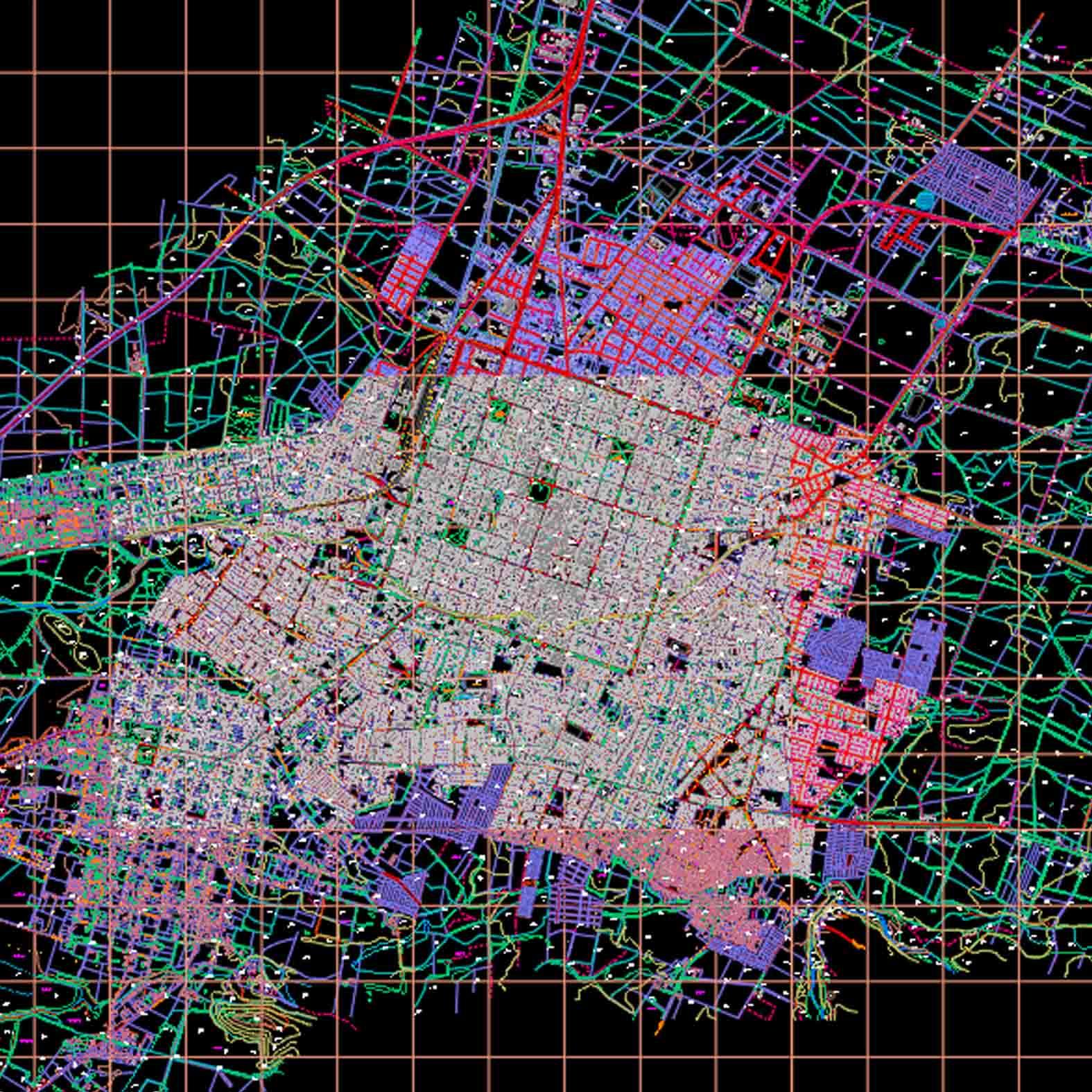 Plano: Ciudad de Chillán