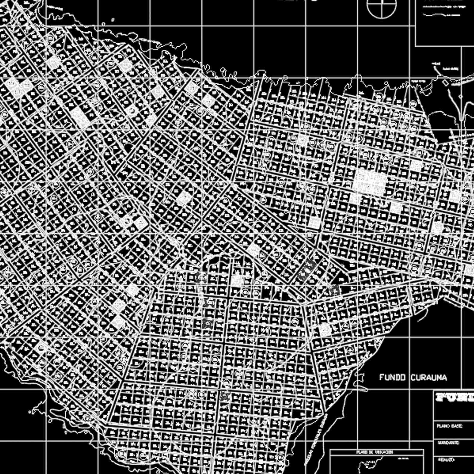 Plano: Fundo Curaumilla - Ciudad de Laguna Verde