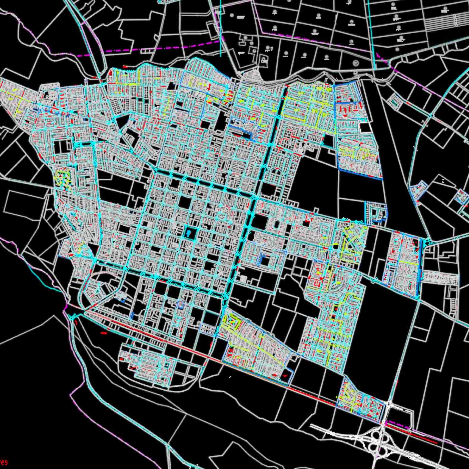 Plano: Ciudad de San Felipe