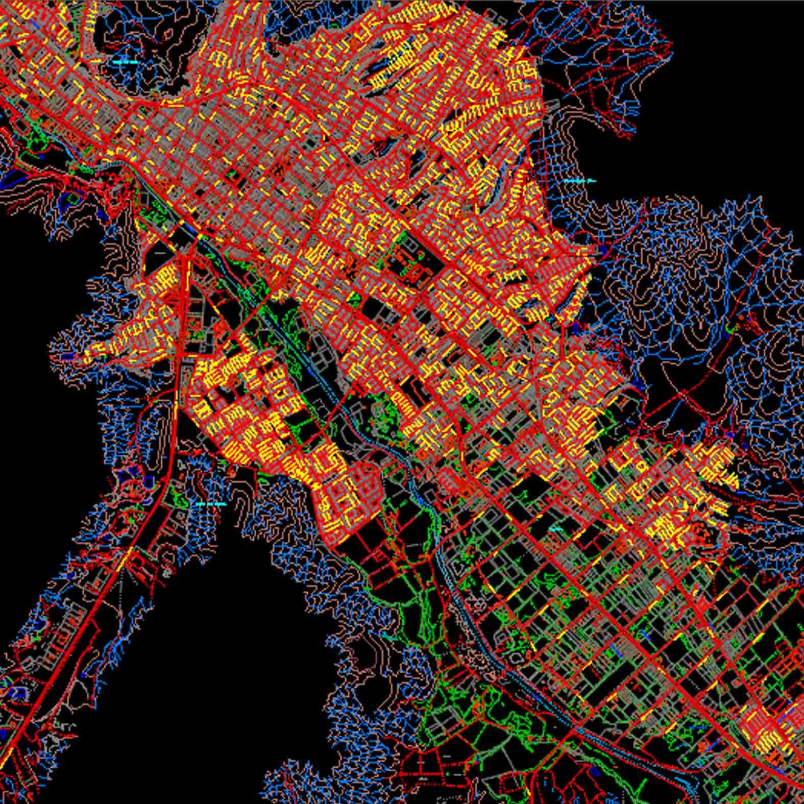 Plano: Ciudad de Copiapó