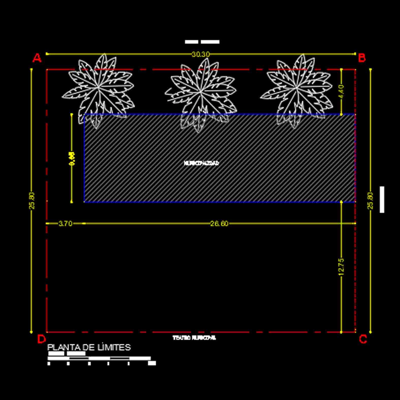 Plano: Edificio Consistorial / Collipulli