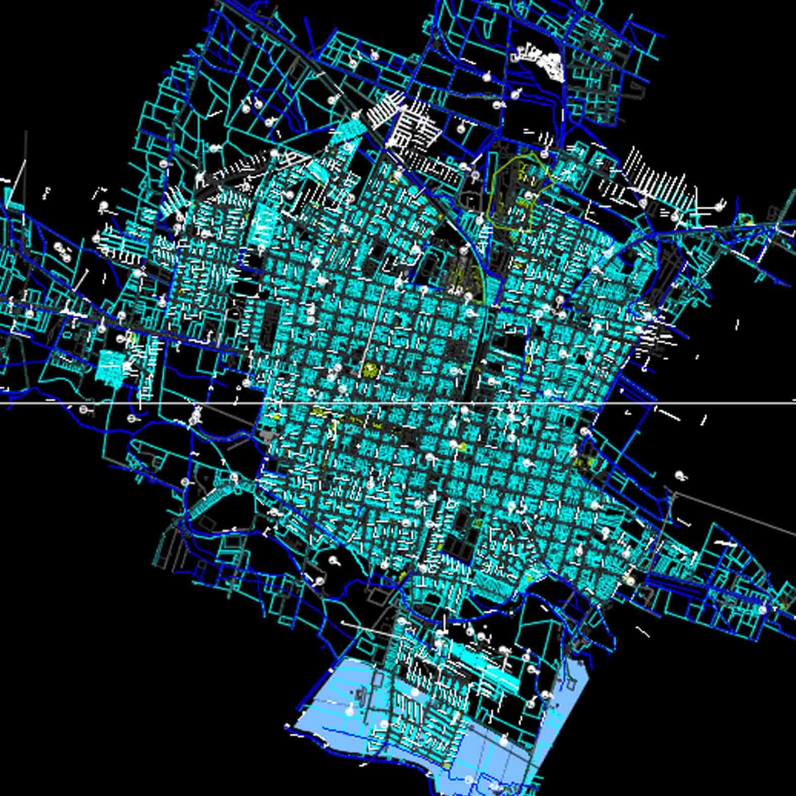Plano: Ciudad de Linares