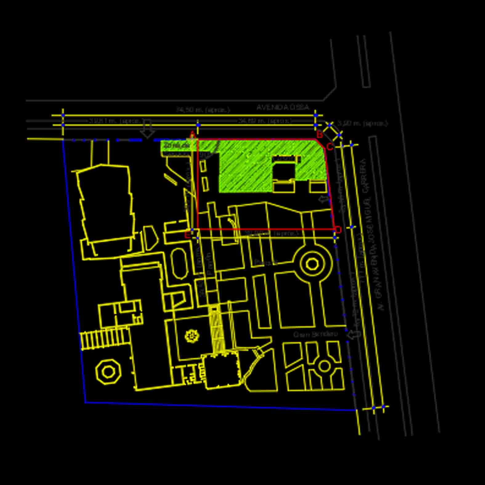 Plano: Casa de la Cultura / La Cisterna