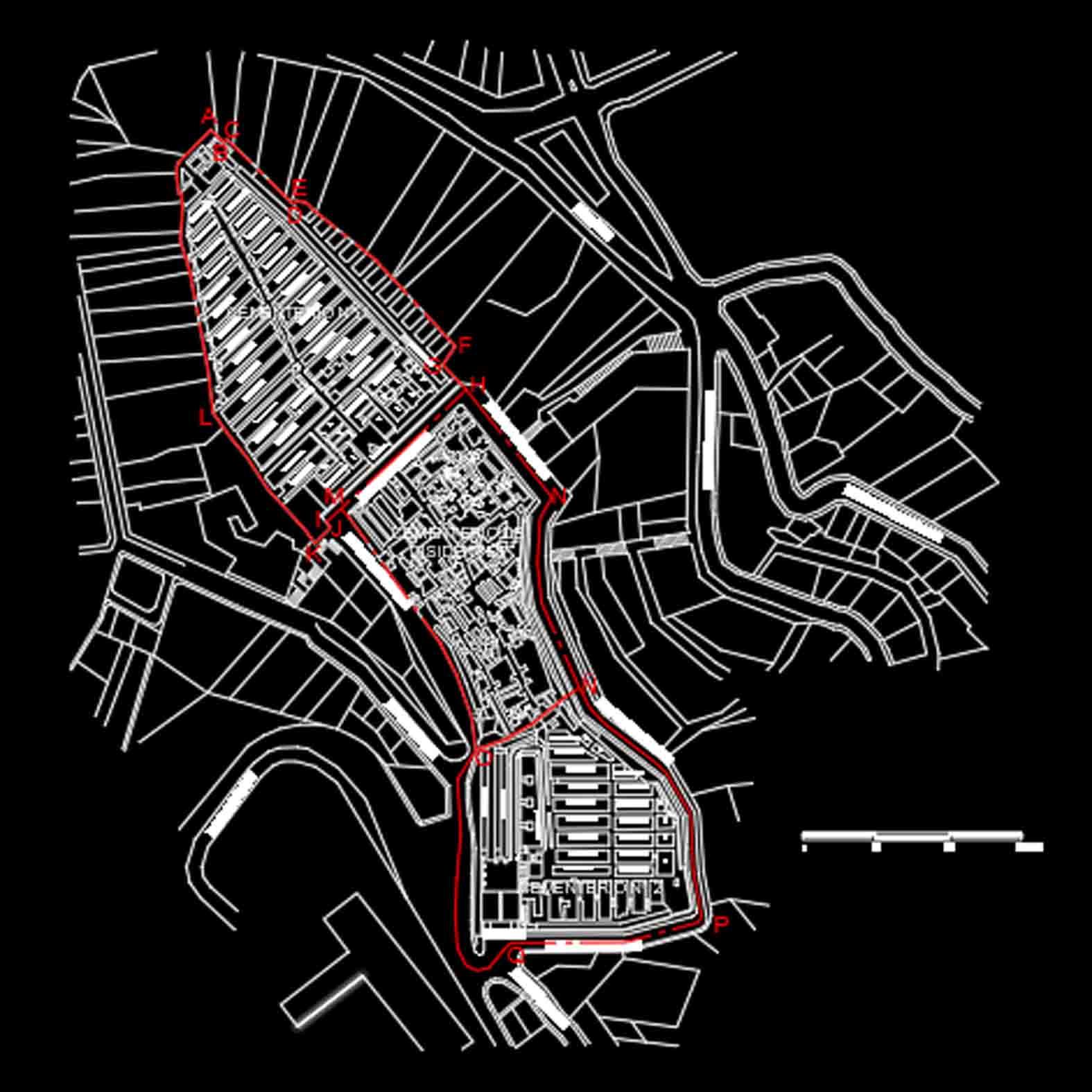 Plano: Cementerios de Valparaíso