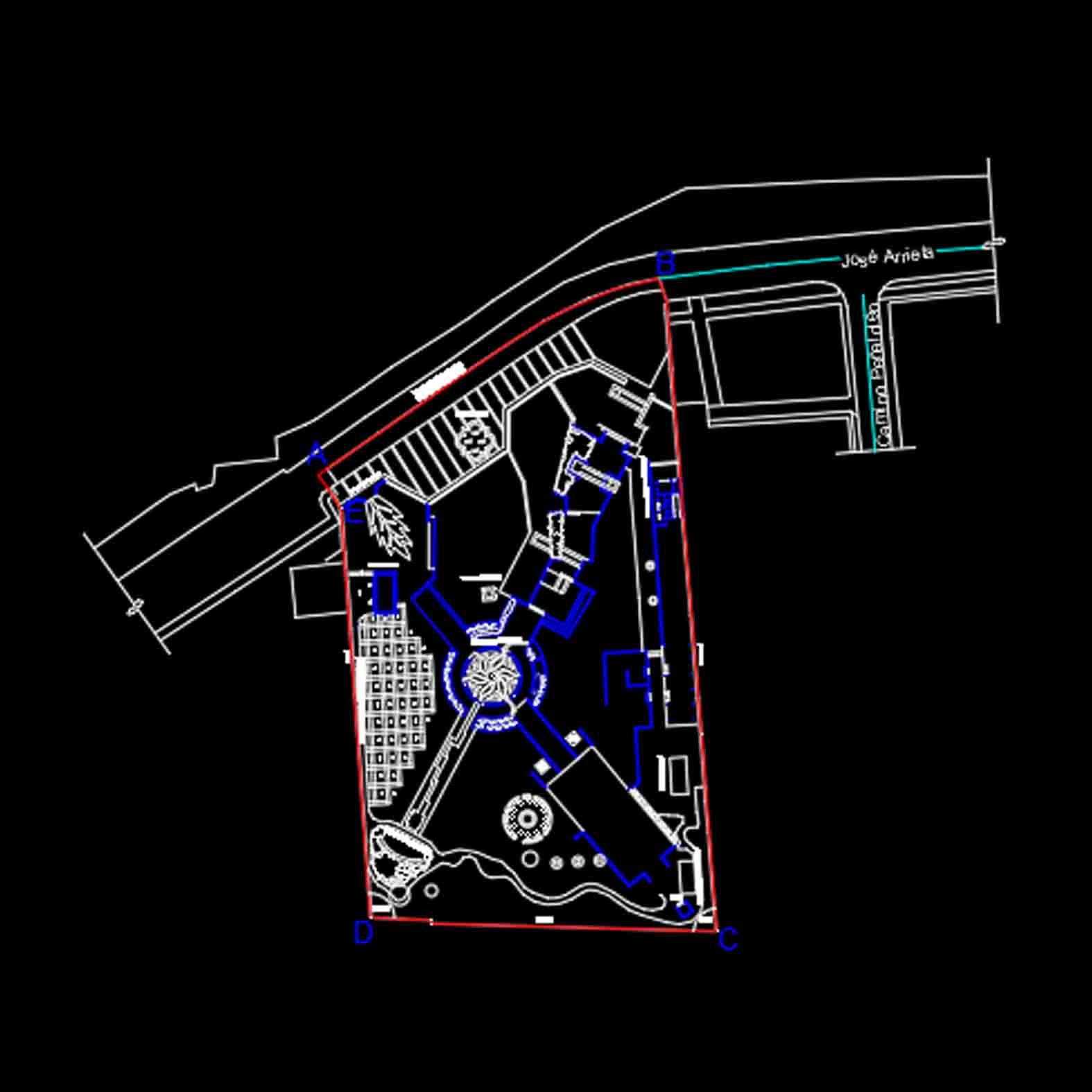 Plano: Villa Grimaldi / Peñalolen