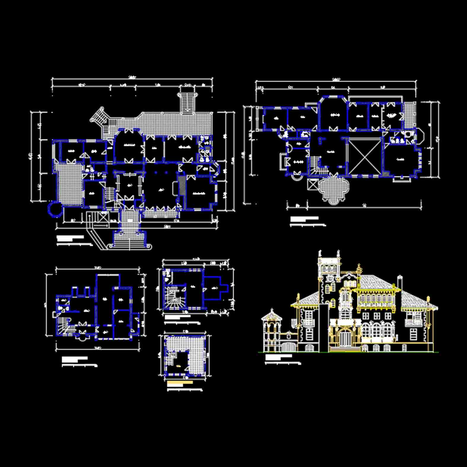 Plano: Castillo Consistorial / Macul