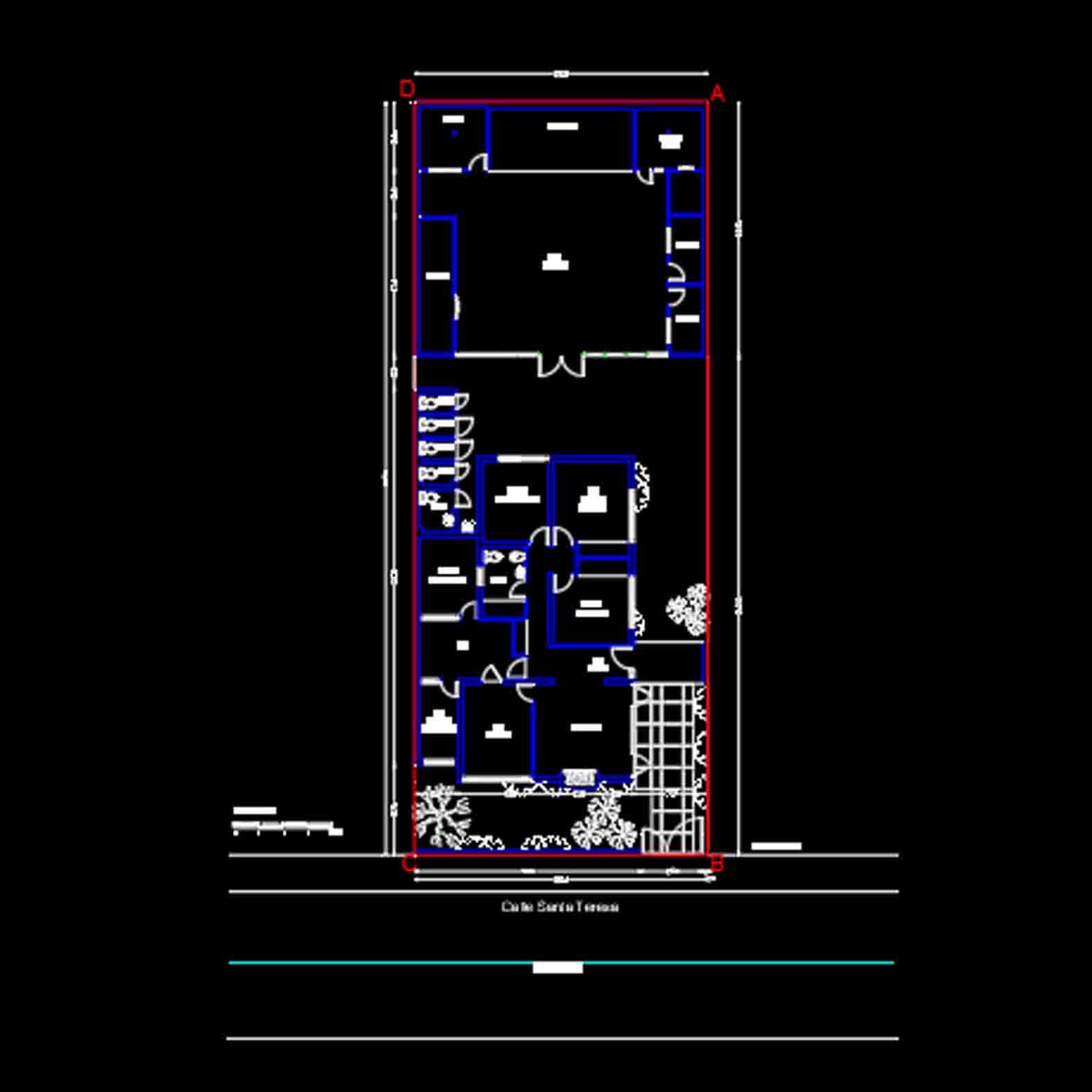 Plano: Nido 20 / La Cisterna