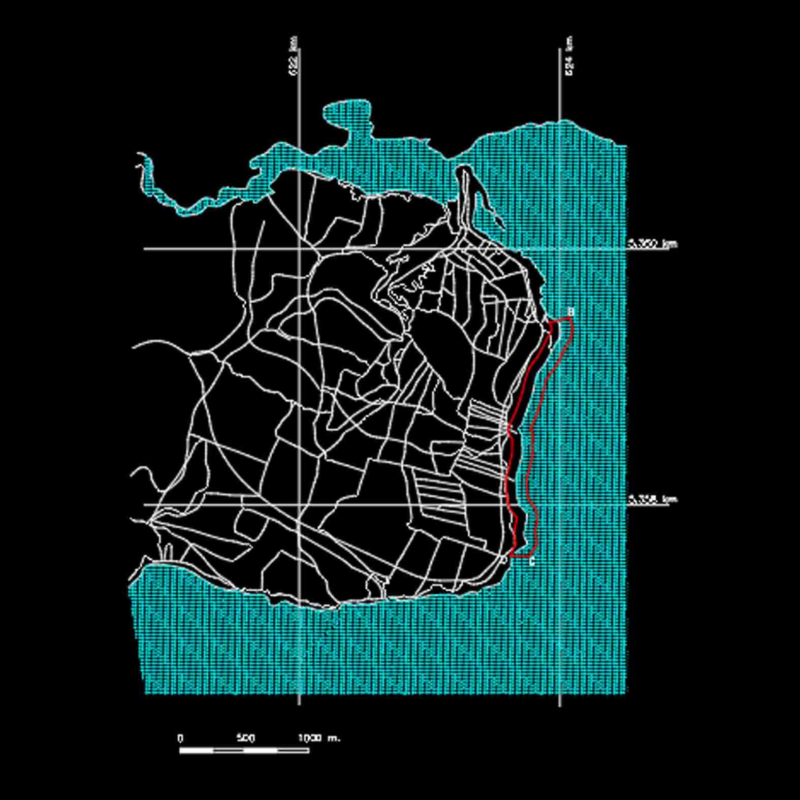 Plano: Corrales de Pesca / Ancud