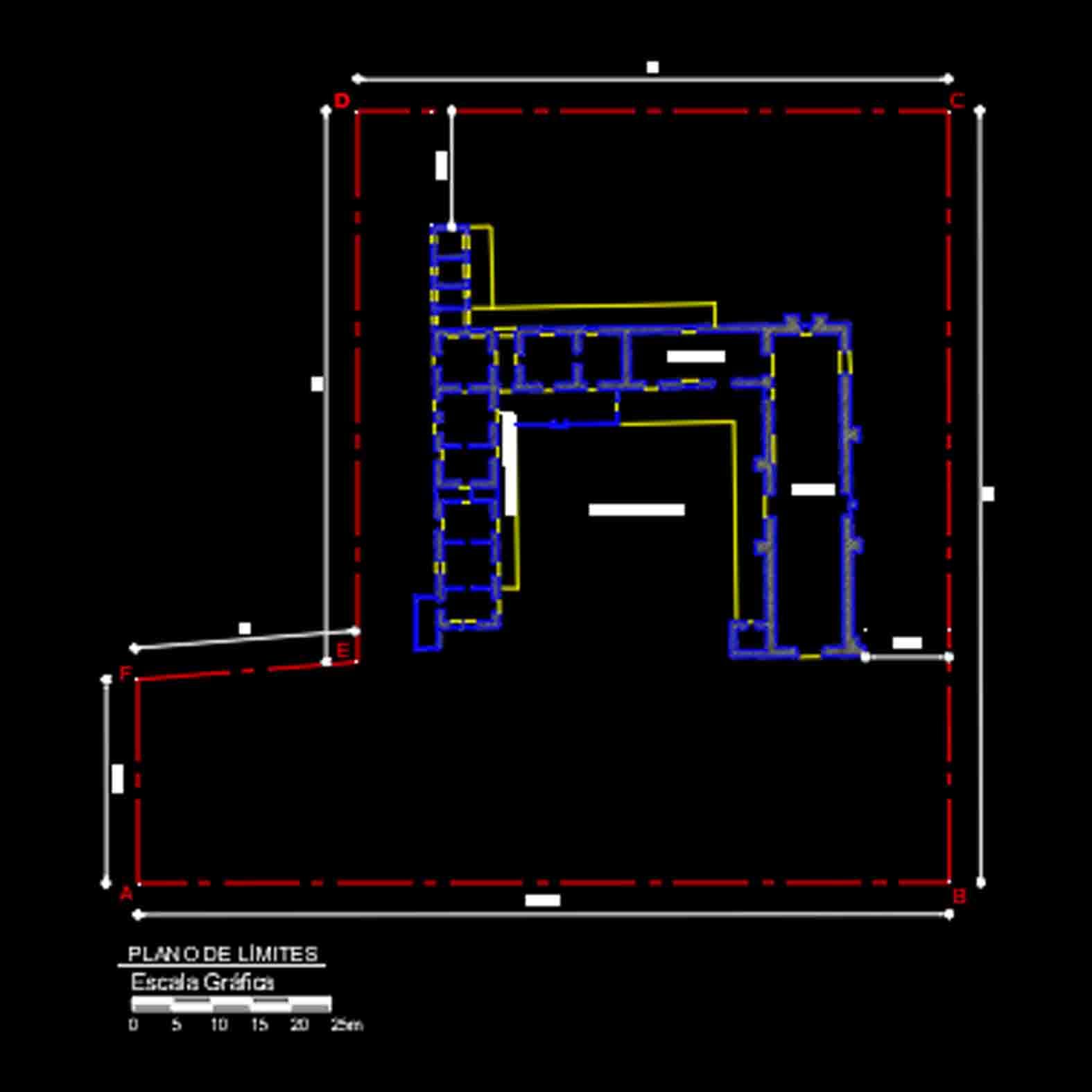 Plano: Iglesia Nuestra Señora de la Merced / Codegua