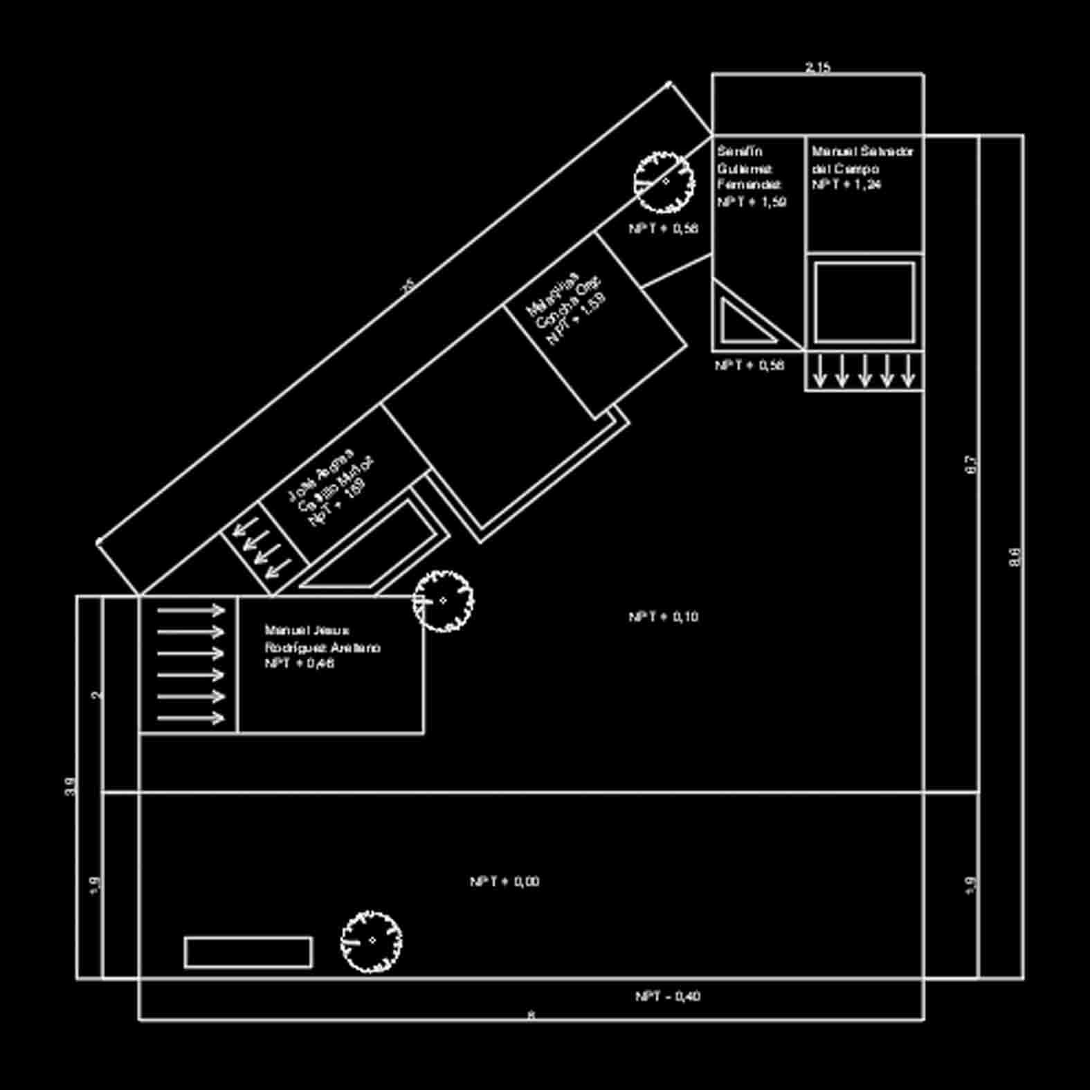 Plano: Cementerio / Villa Alegre