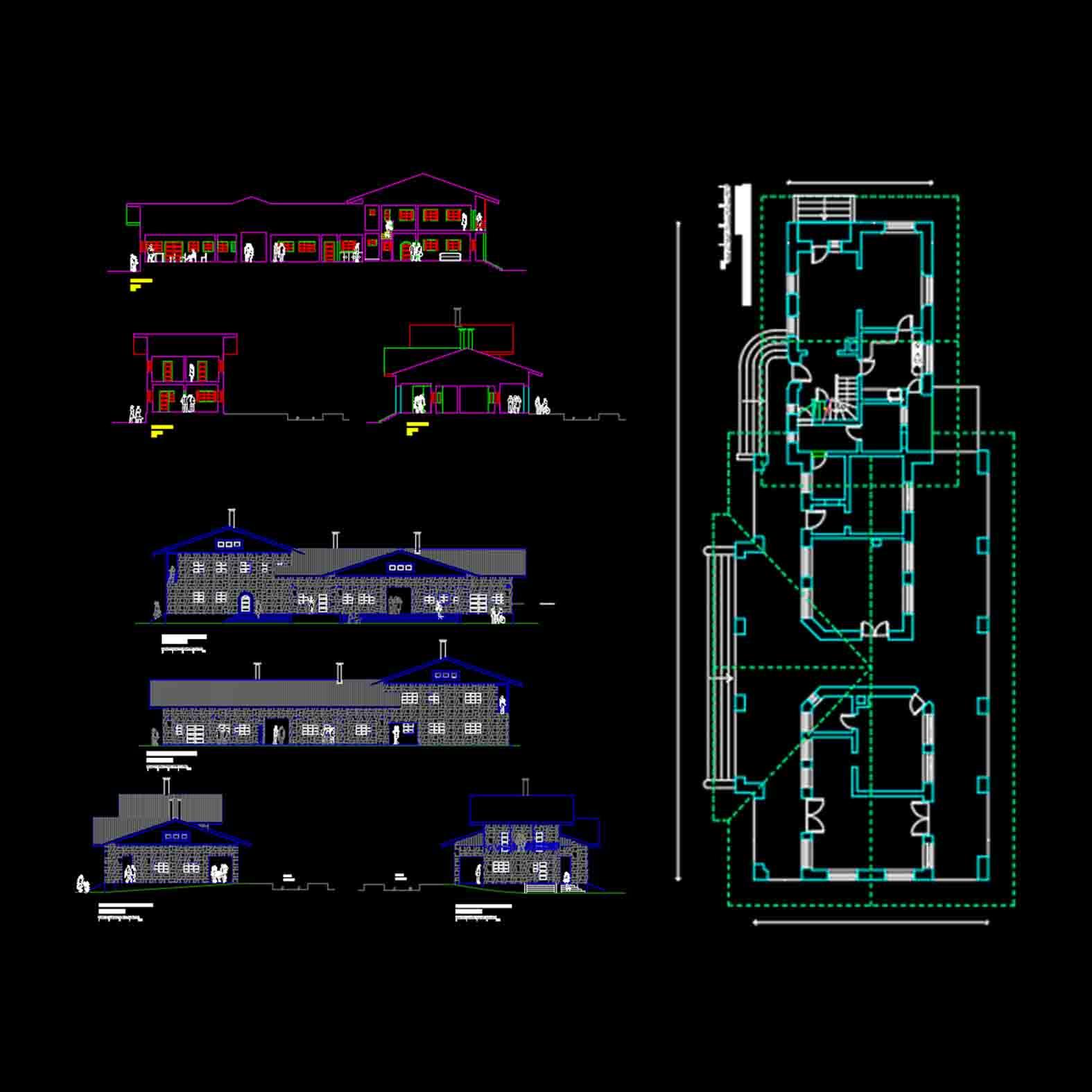 Plano: Estación Manzanar / Curacautin