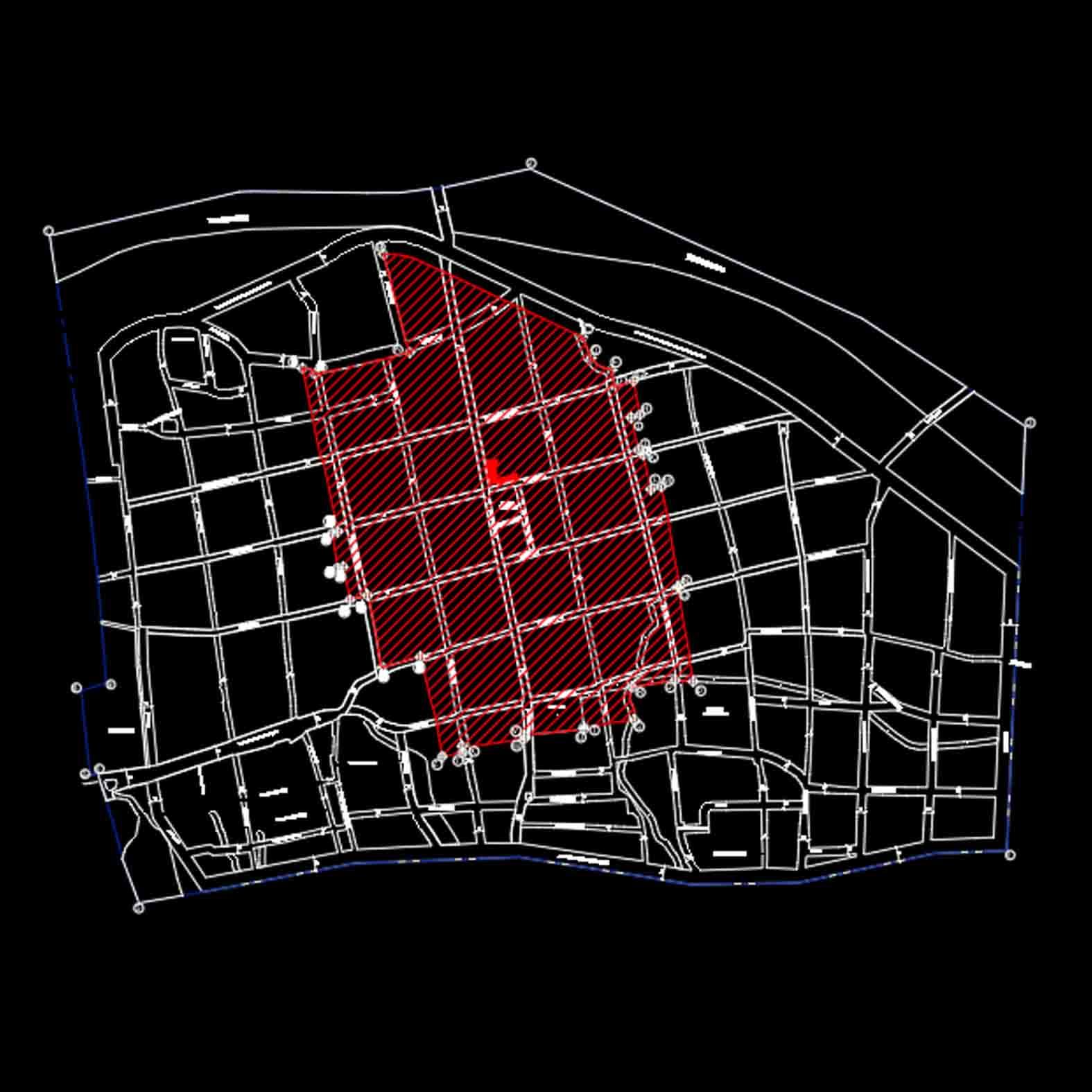 Plano: Pueblo de Alhué / Zona Típica