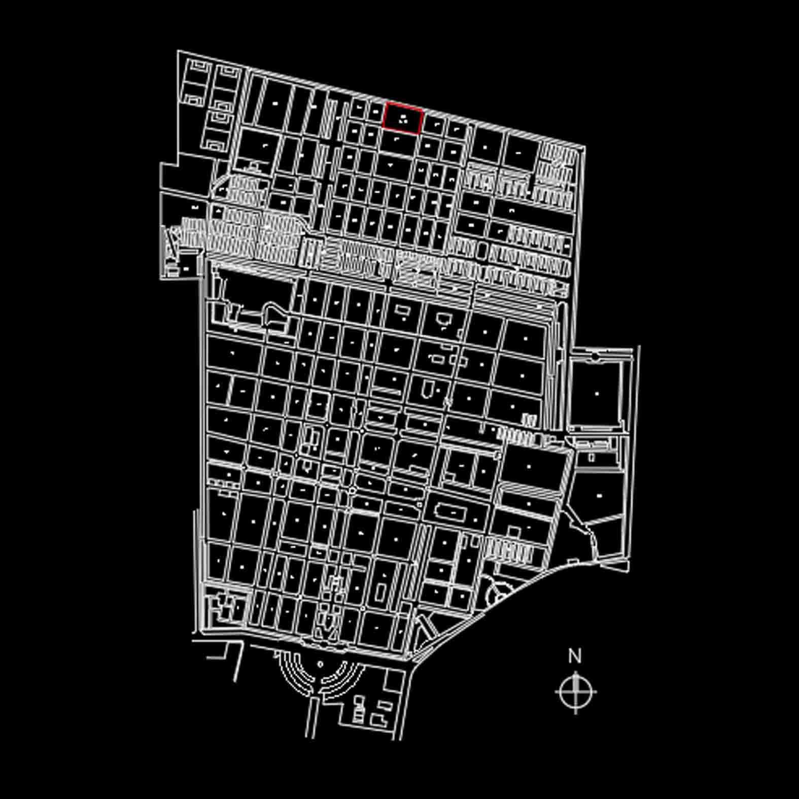 Plano: Cementerio General Patio 29 / Recoleta