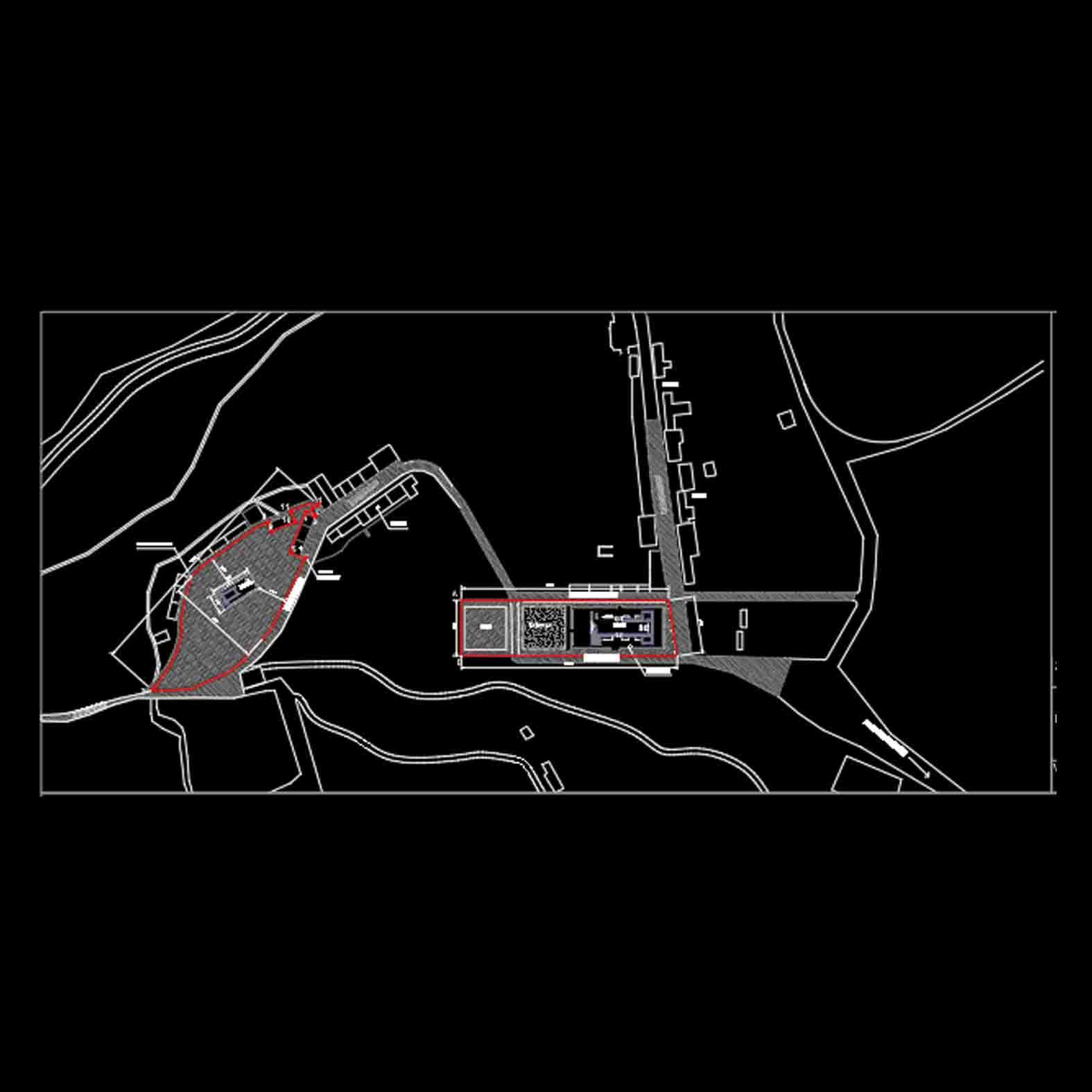 Plano: Iglesia y Capilla de Nama / Camiña