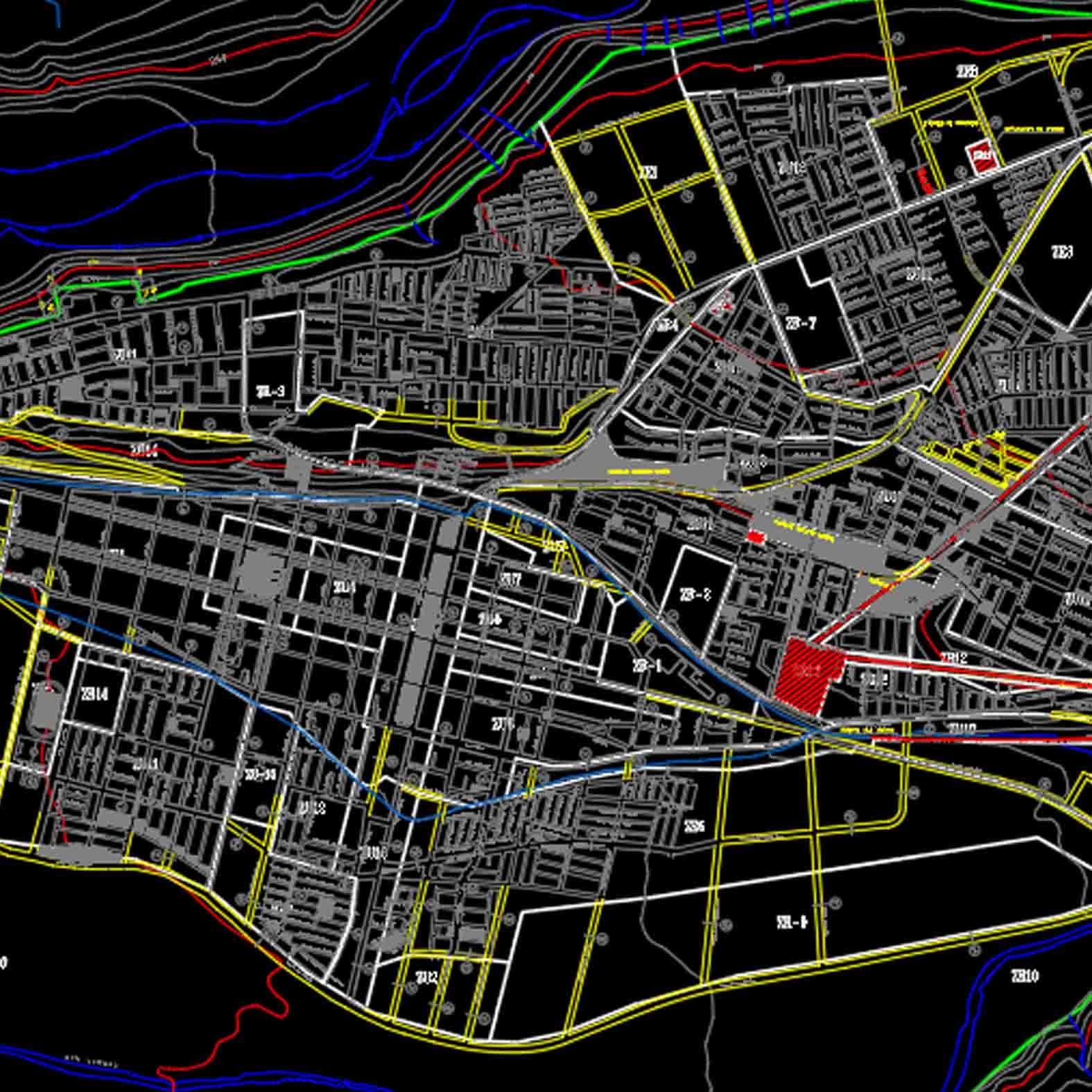Plano: Ciudad de Ovalle