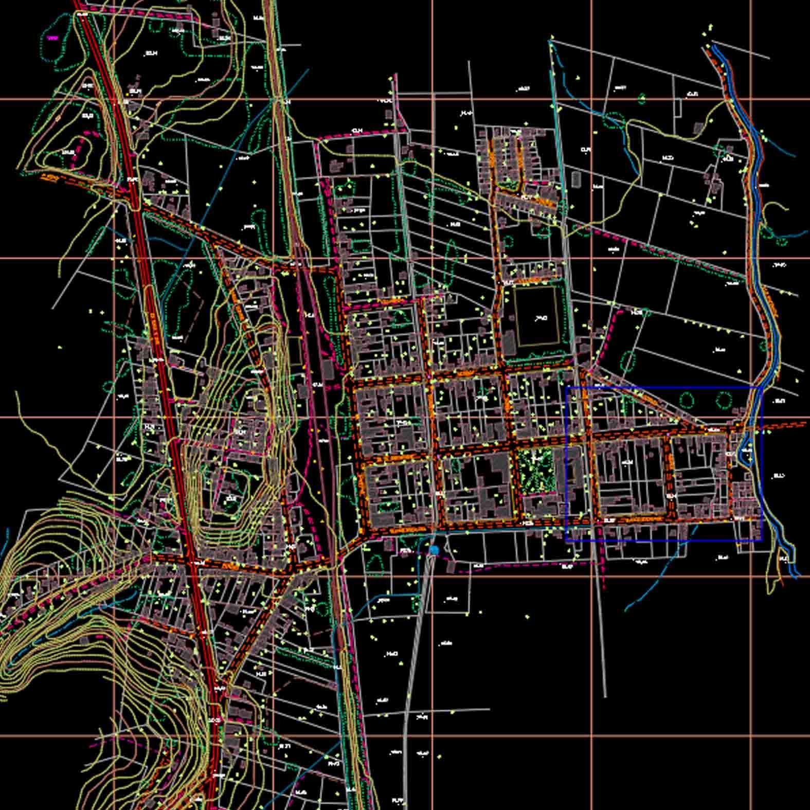 Plano: Localidad de Lastarria - Gorbea