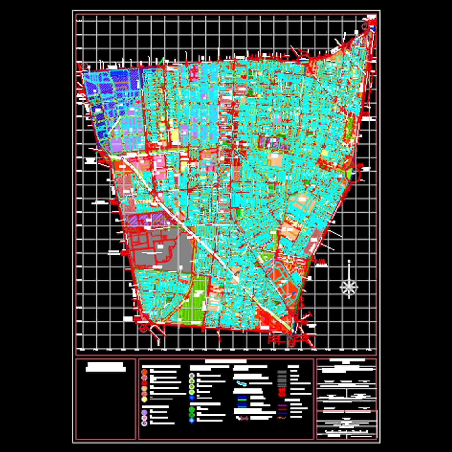 Plano: Comuna de Macul / Plan Regulador