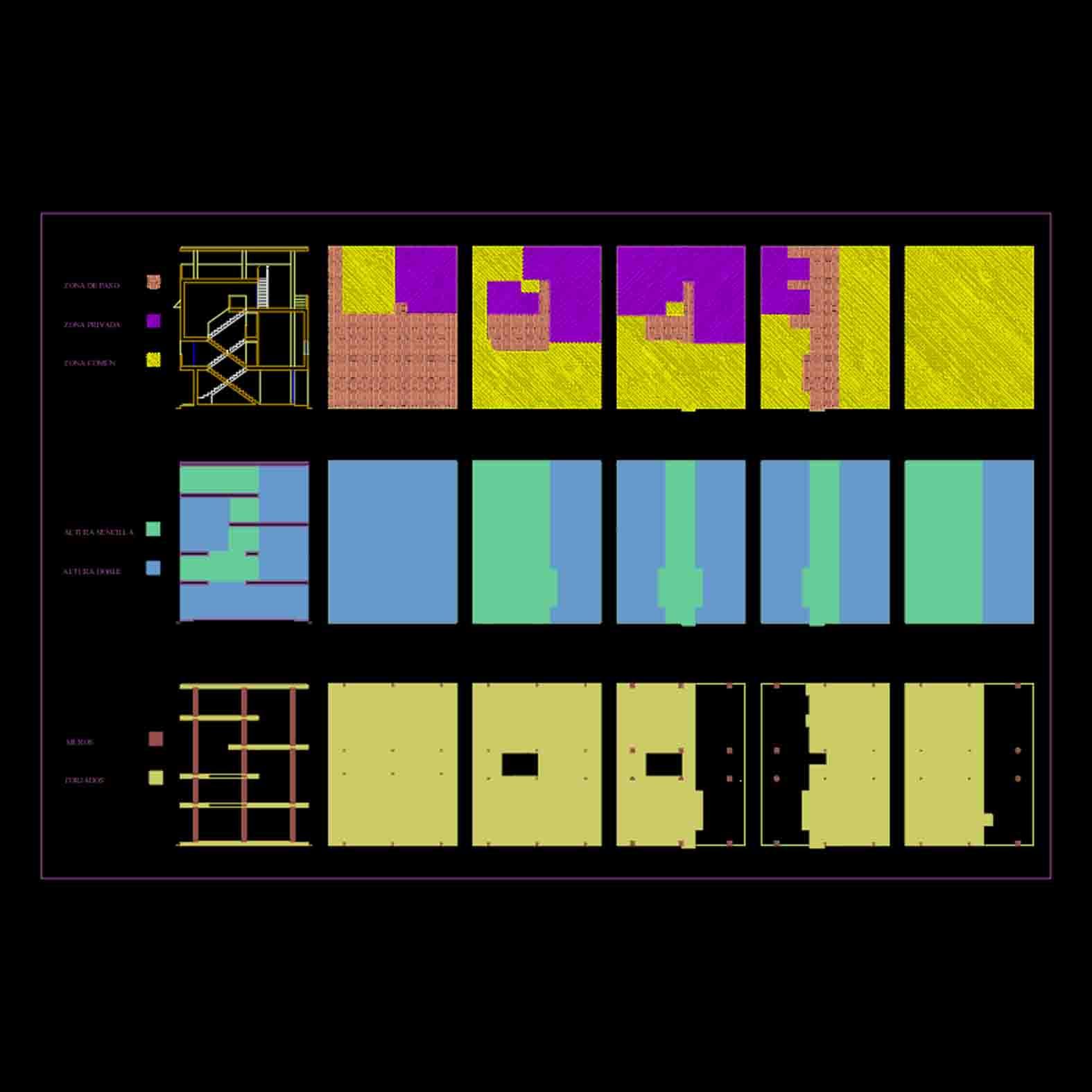 Plano: Villa Baizeau / Le Corbusier