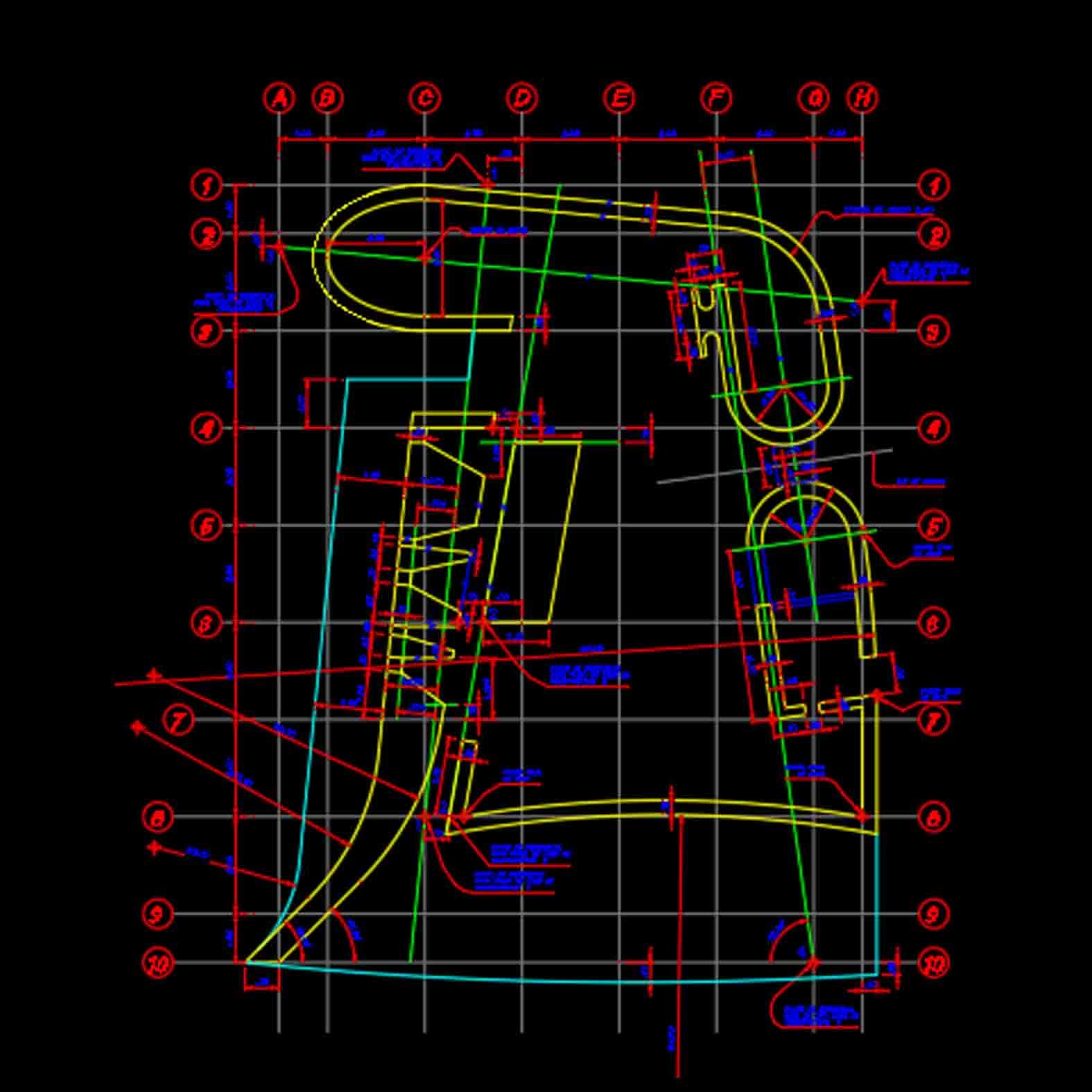 Plano: Ronchamp / Le Crobusier