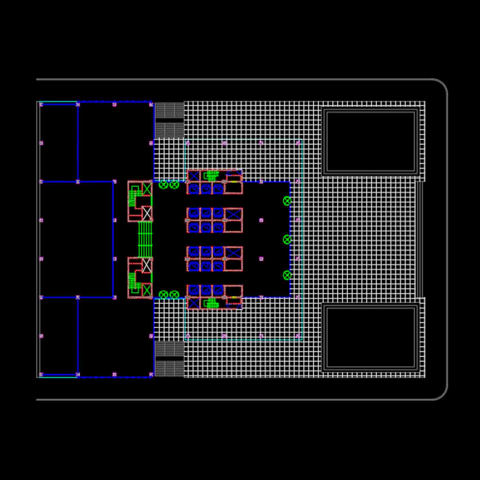 Plano: Seagram Building / Mies Van der Rohe