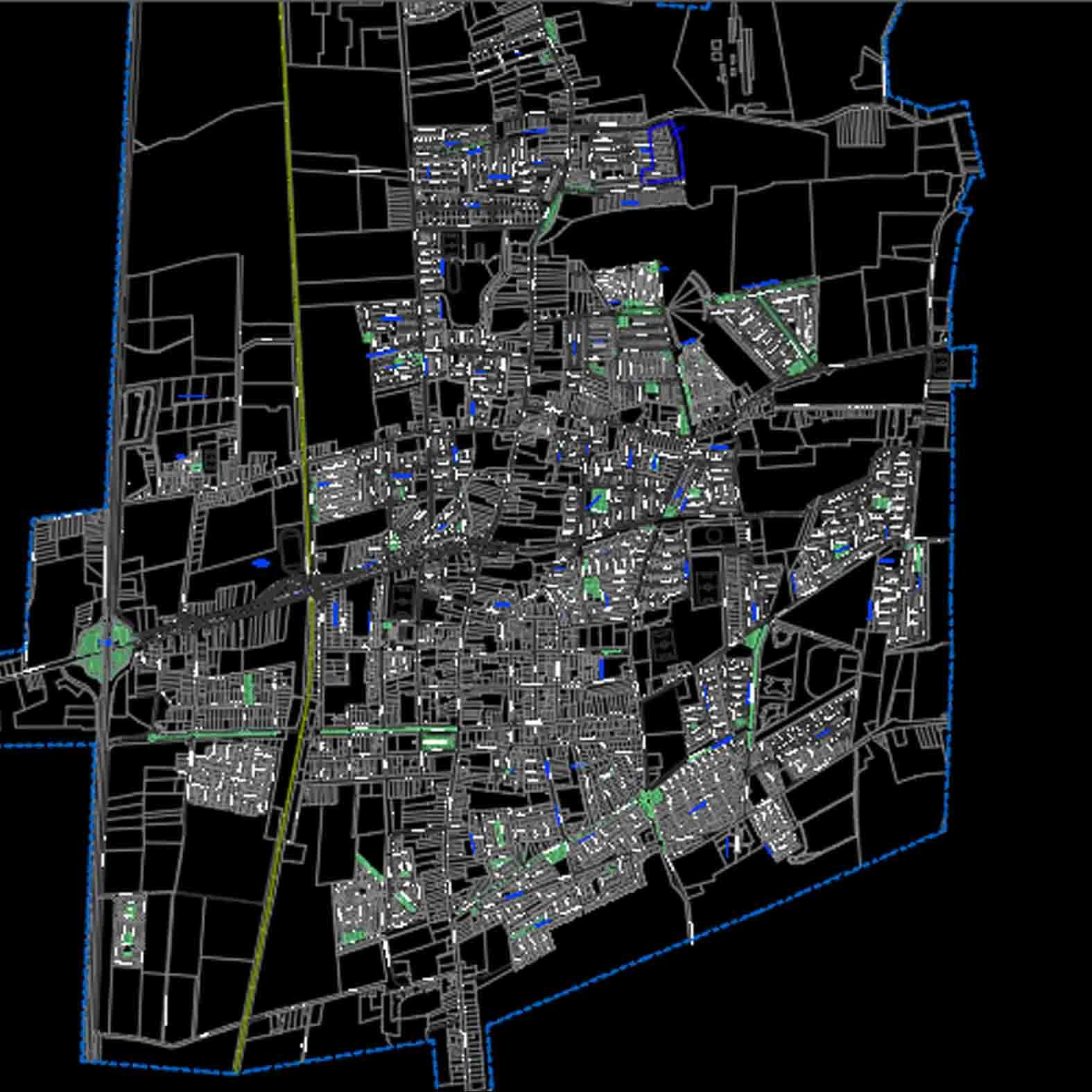 Plano: Ciudad de Rengo