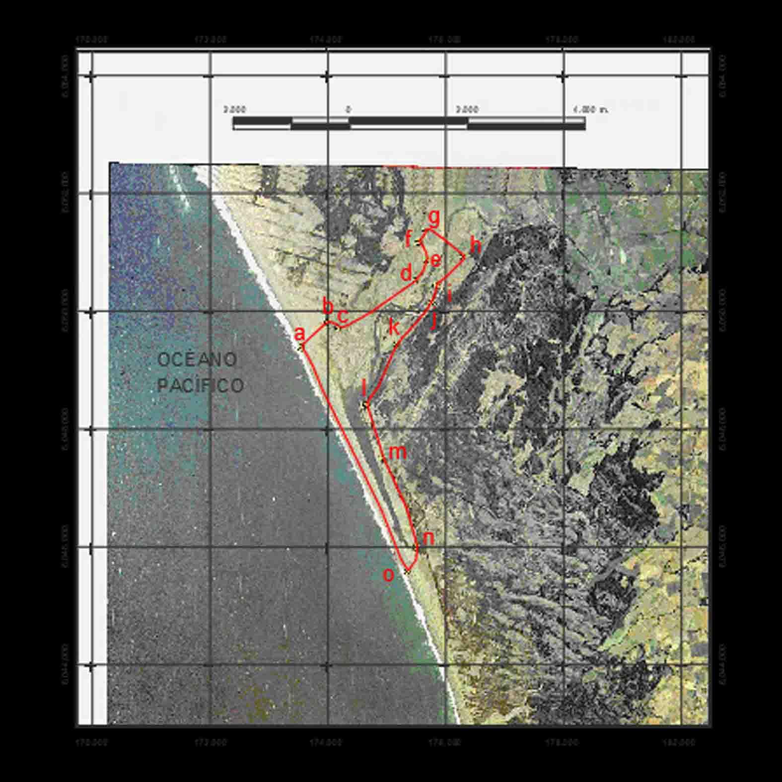 Plano: Humedal de Reloca / Chanco