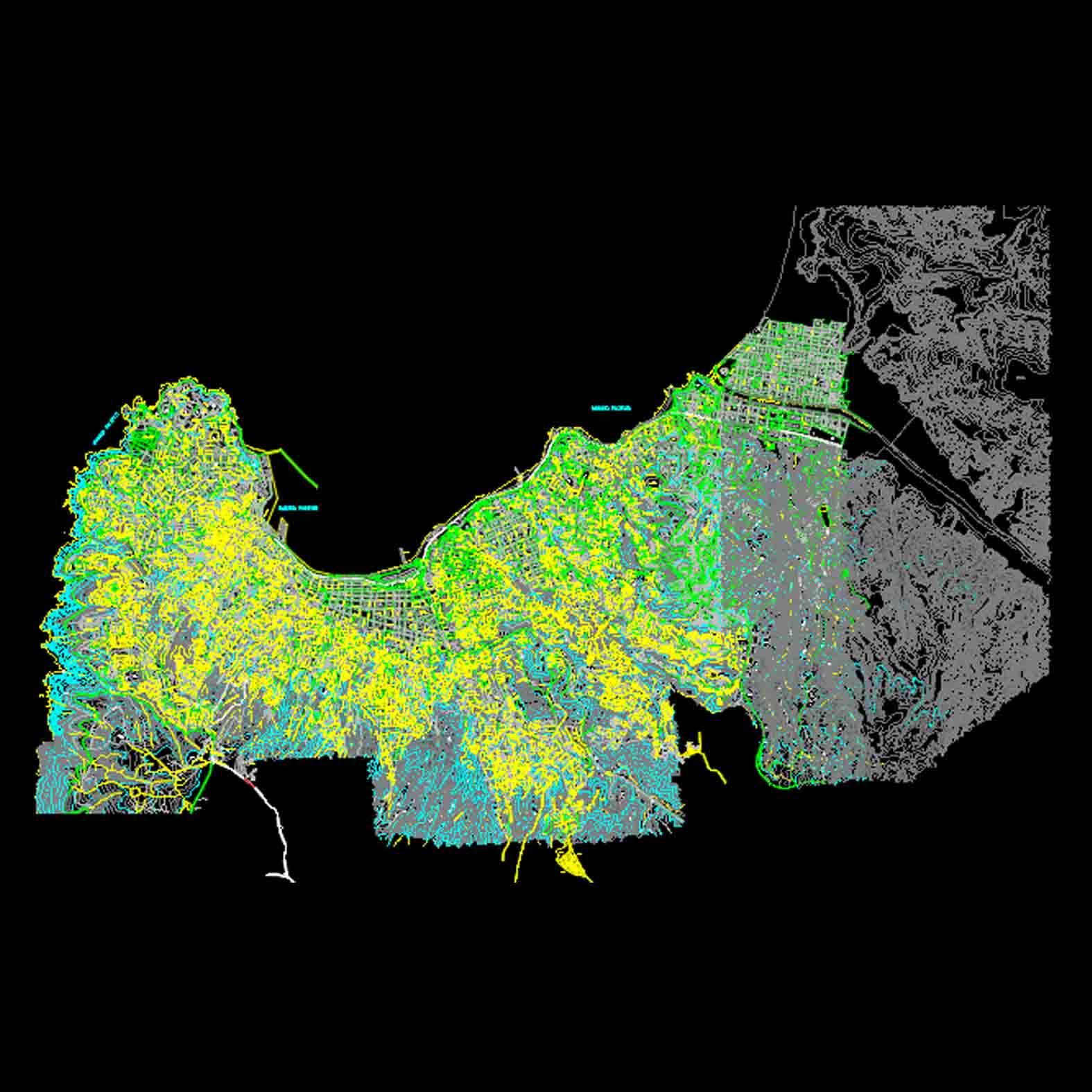 Plano: Ciudad Valparaíso
