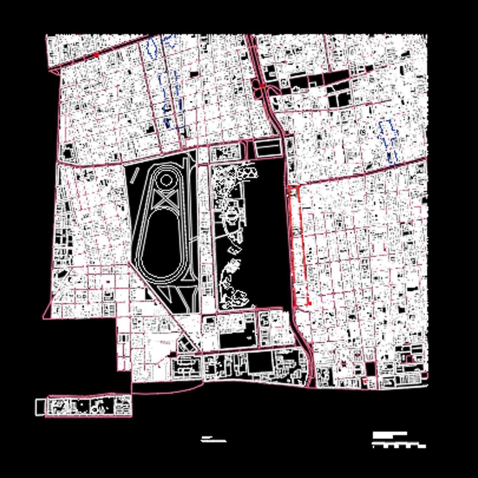 Plano: Barrio Matta, Viel, San Ignacio y Rondizzoni / Santiago