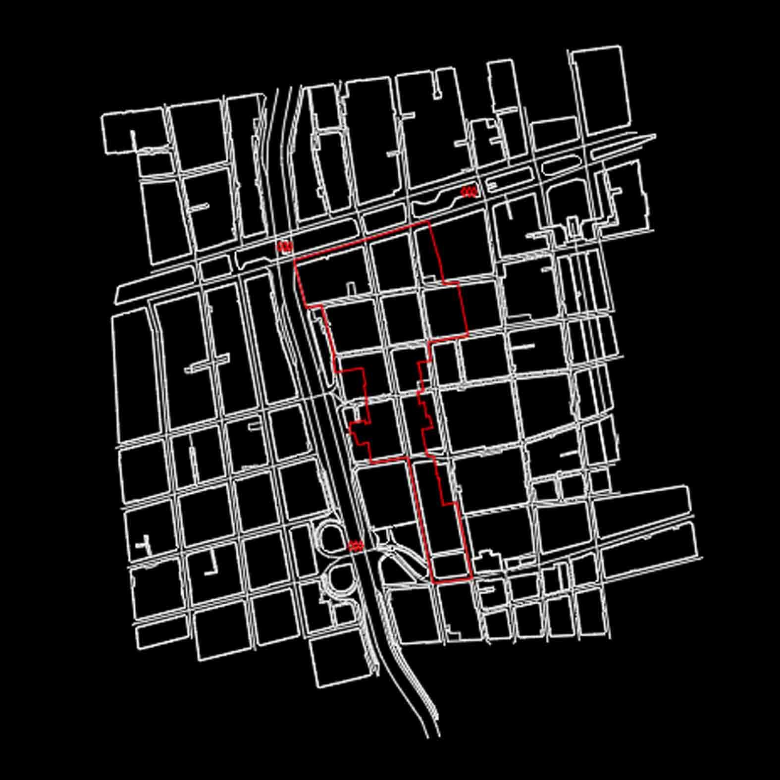 Plano: Calle Dieciocho / Santiago