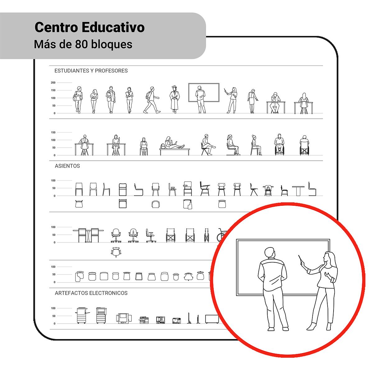Bloques: Centro Educativo