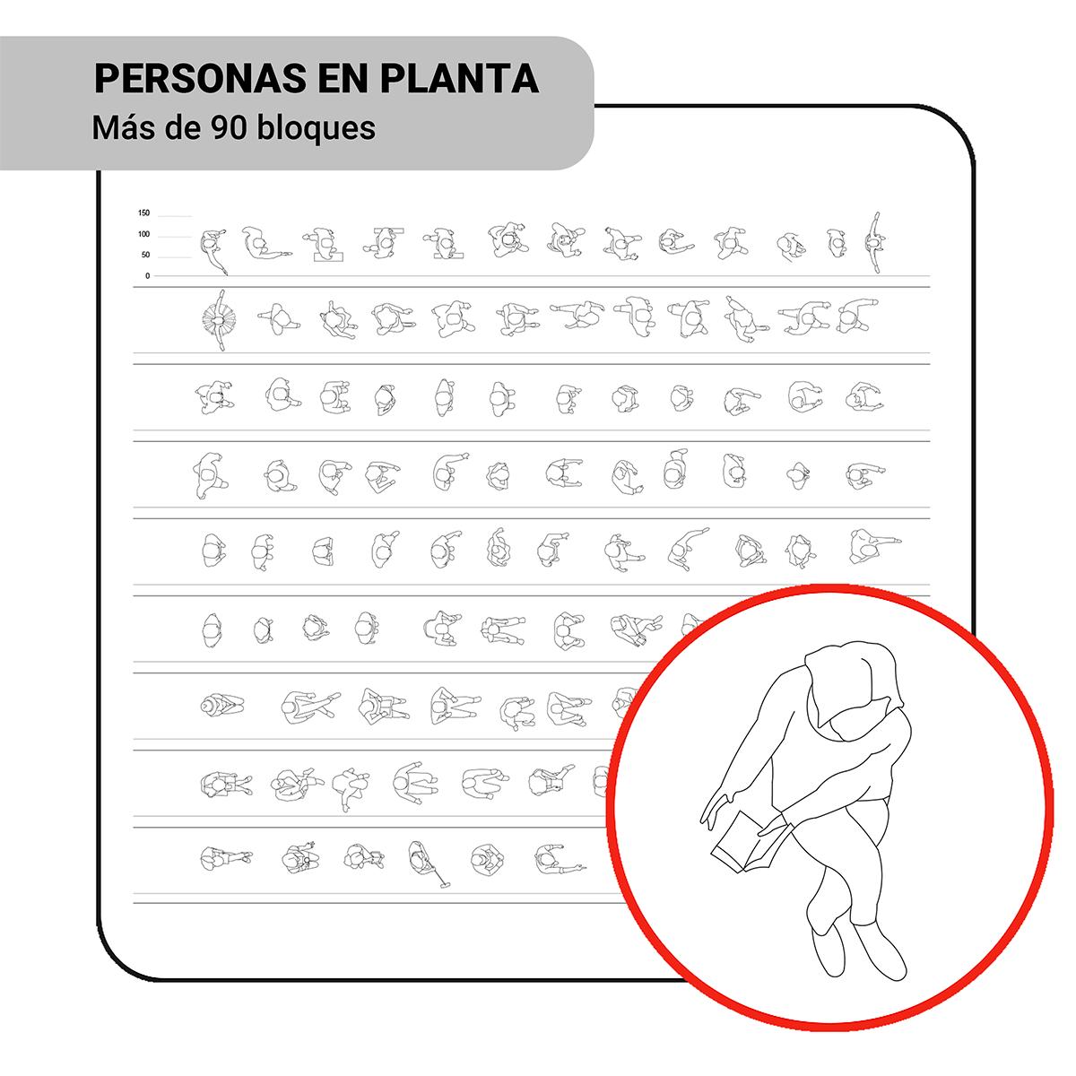 Bloques: Personas en Planta