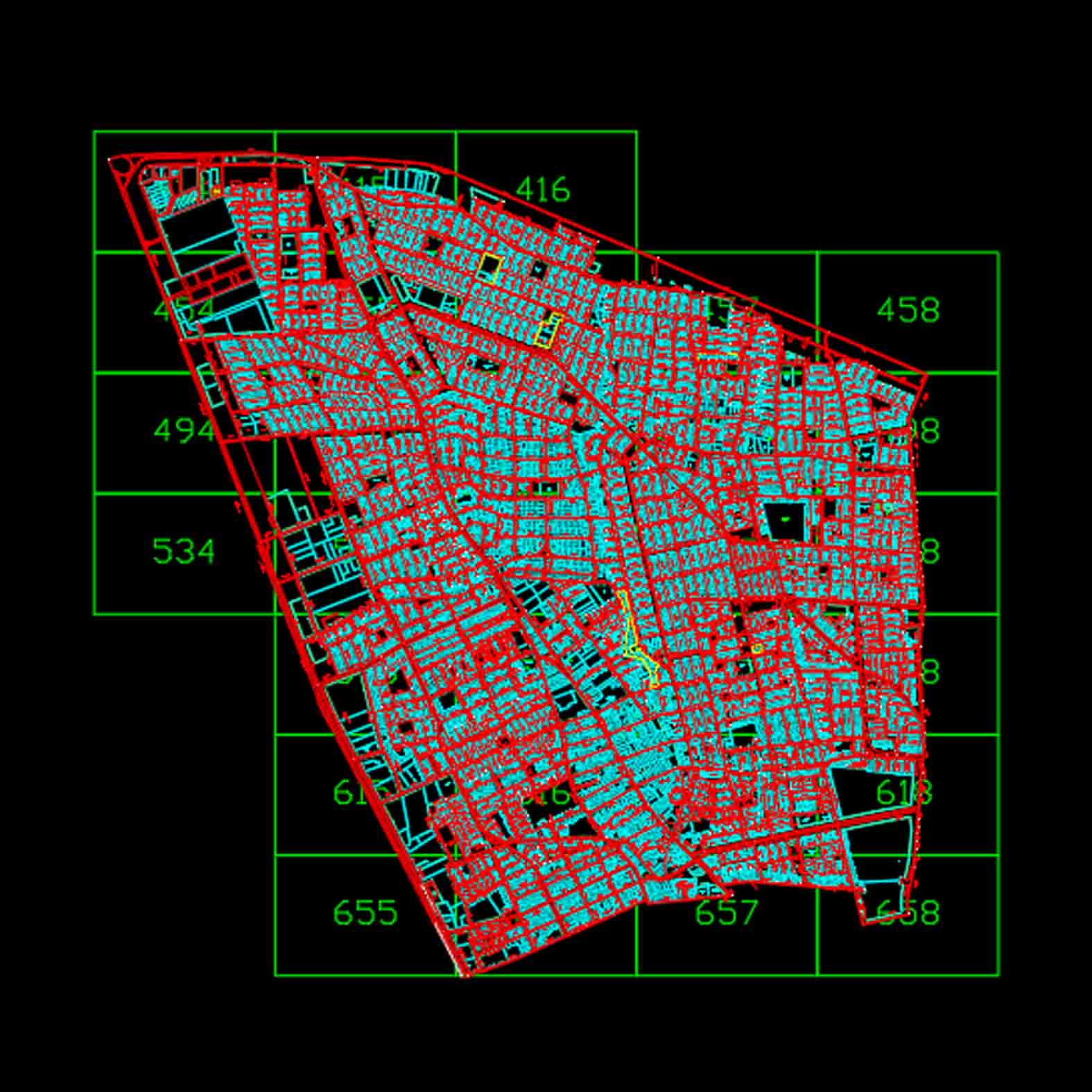 Plano: Comuna de Conchalí