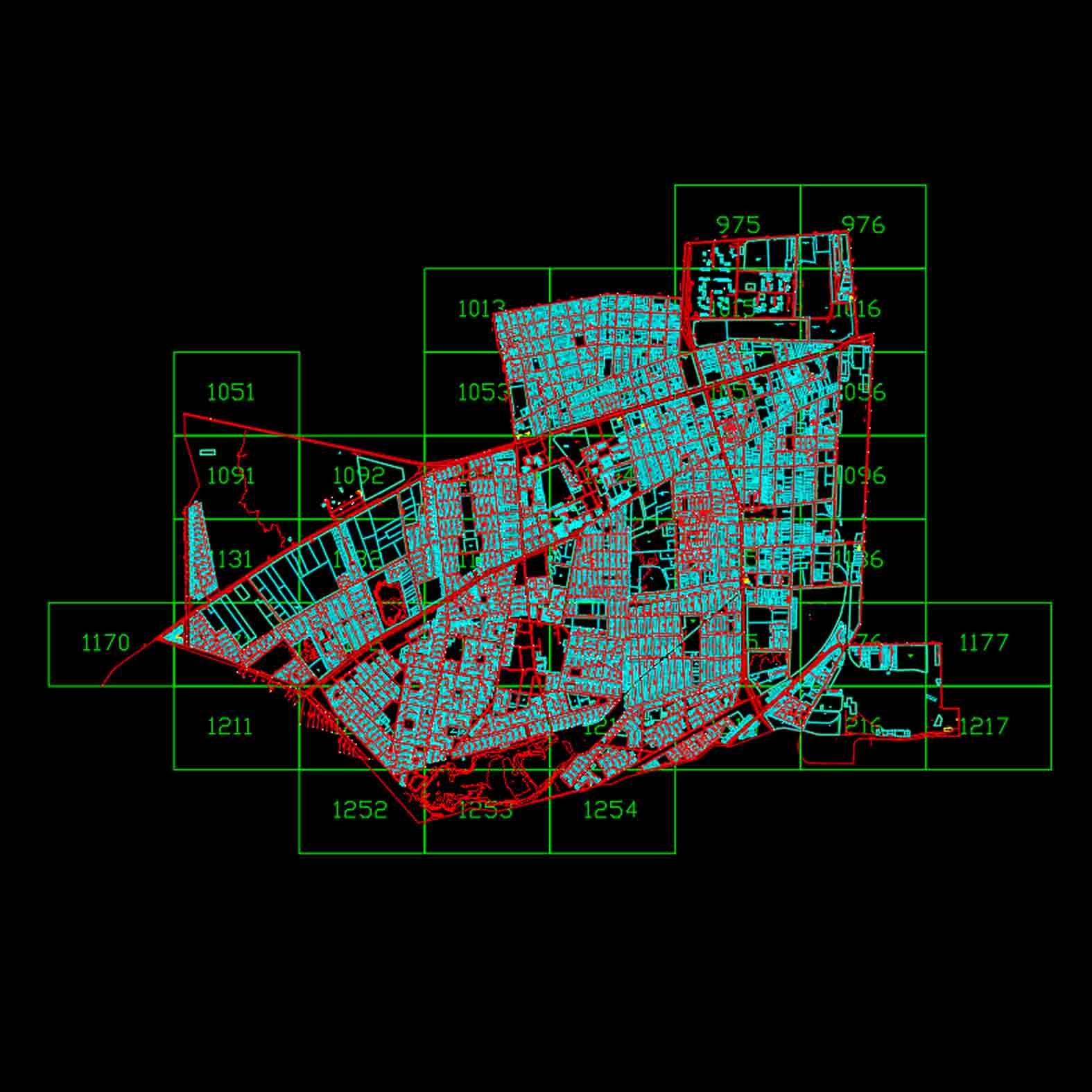 Plano: Comuna Estación Central