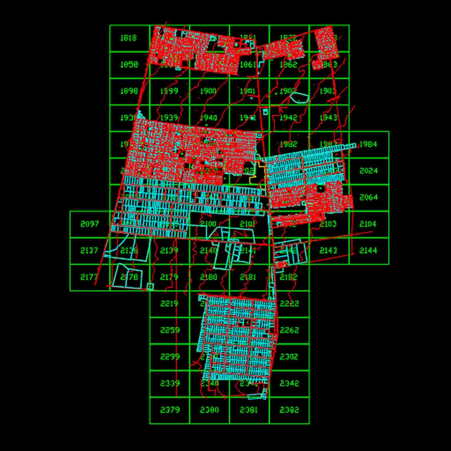 Plano: Comuna de La Pintana