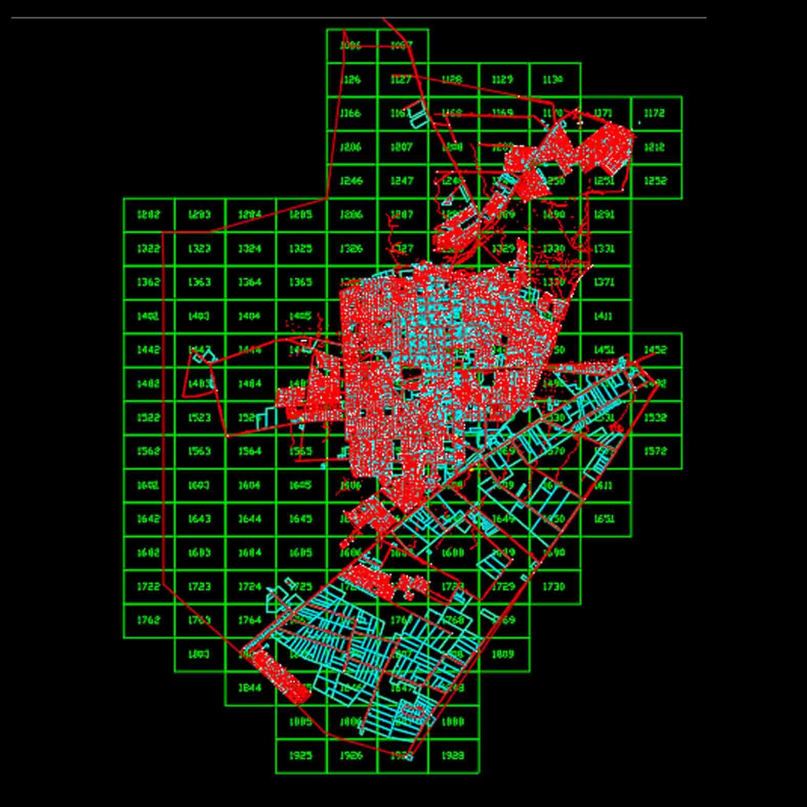 Plano: Comuna de Maipú