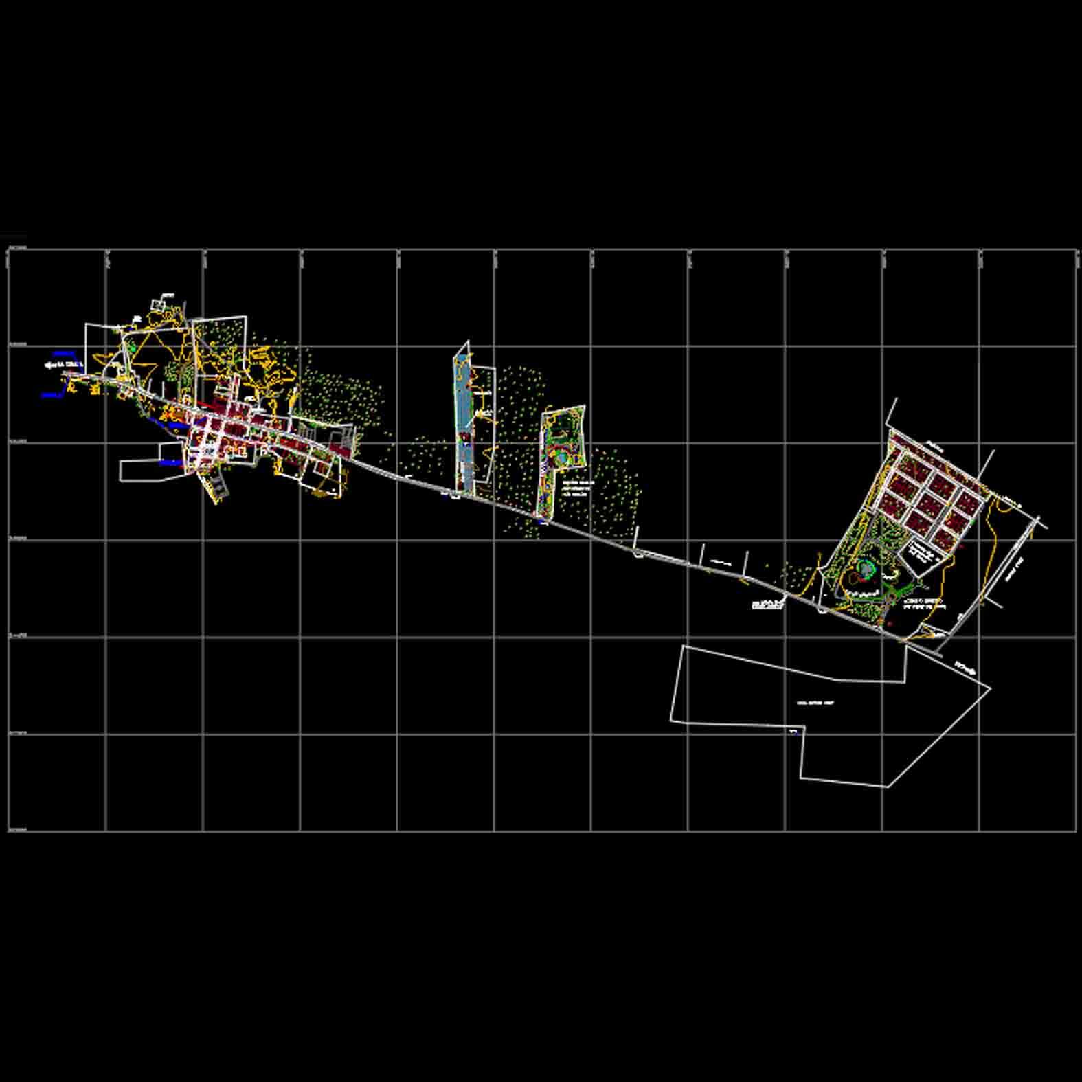 Plano: Localidad de La Huayca