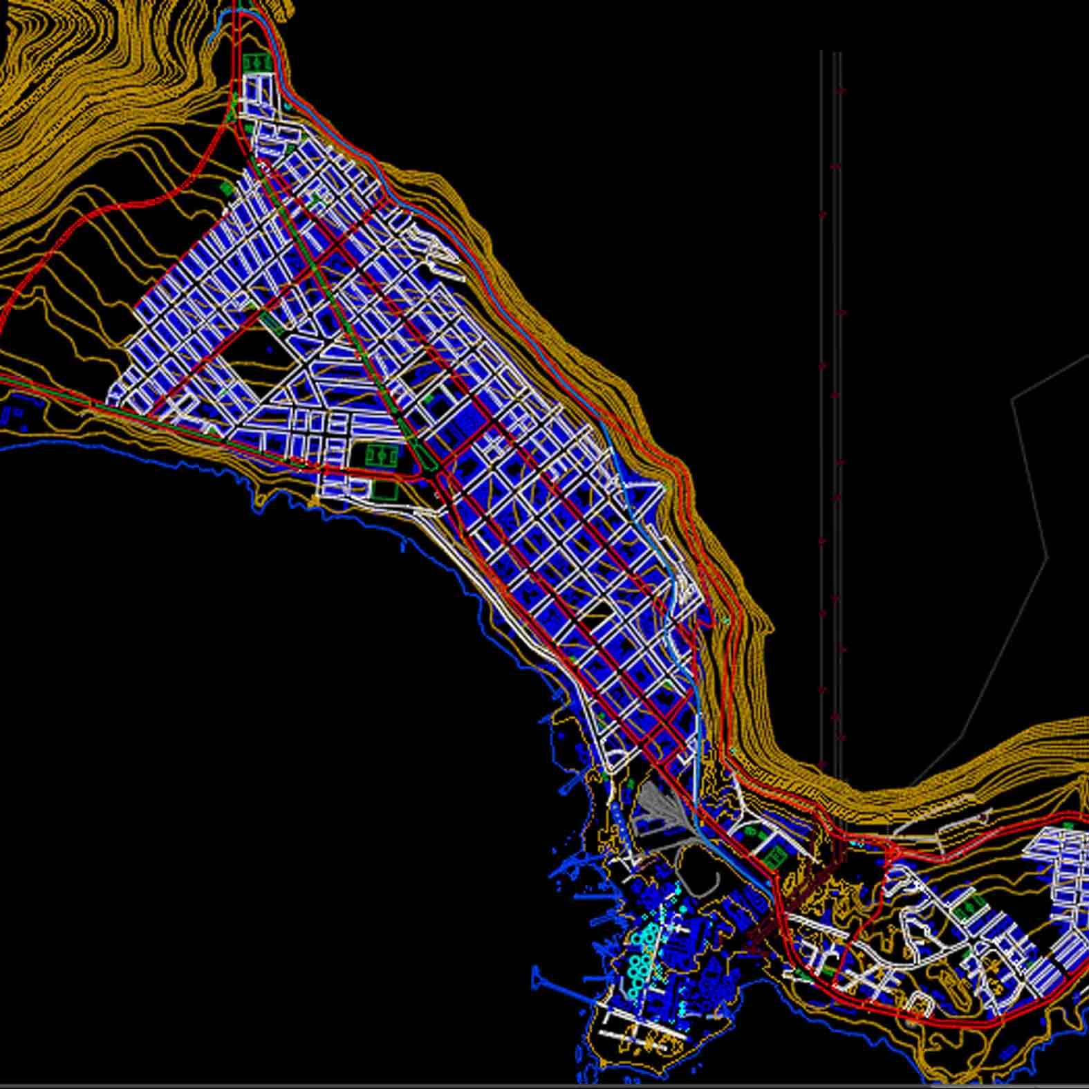 Plano: Ciudad de Tocopilla