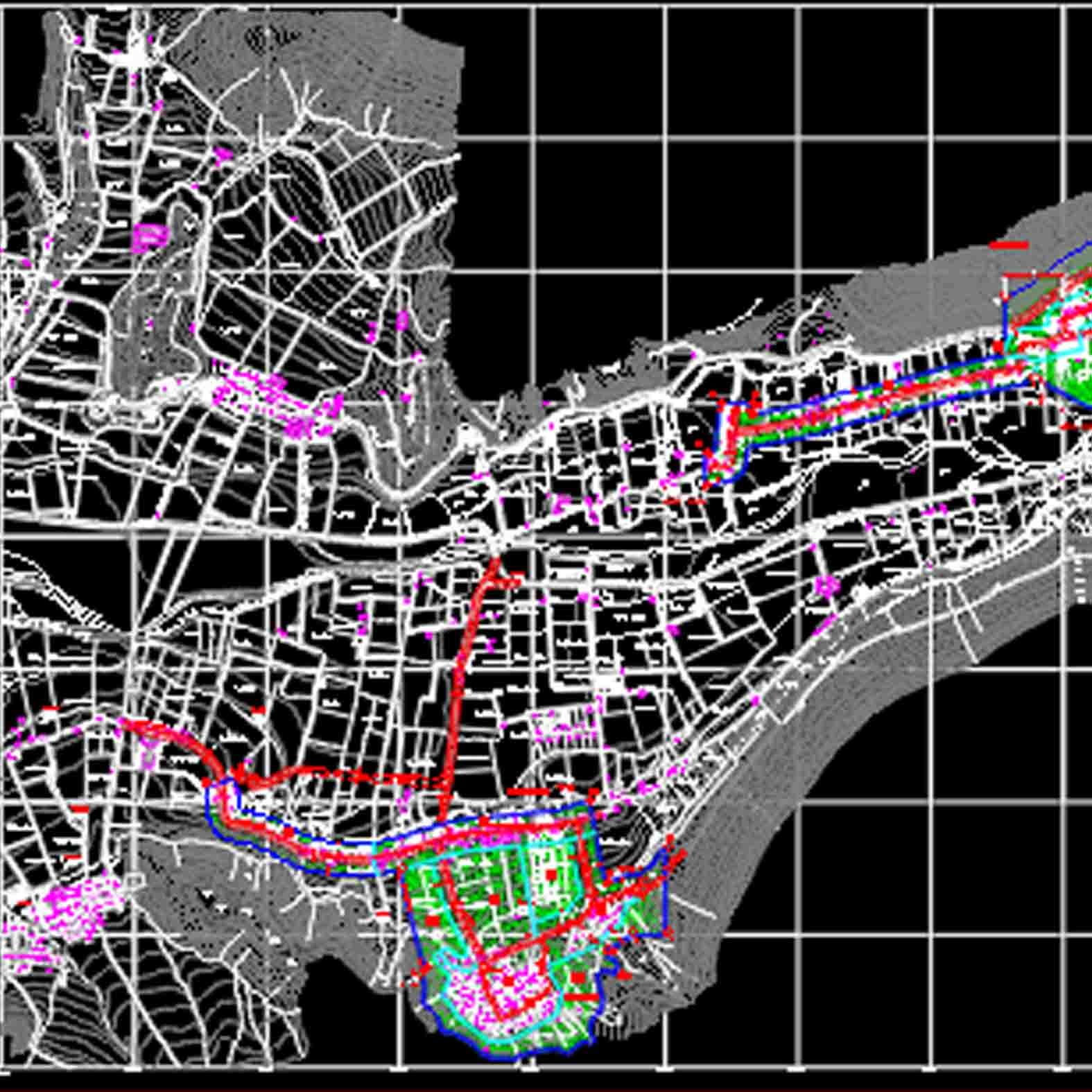 Plano: Localidad de Diaguitas y Peralillo - Lourdes