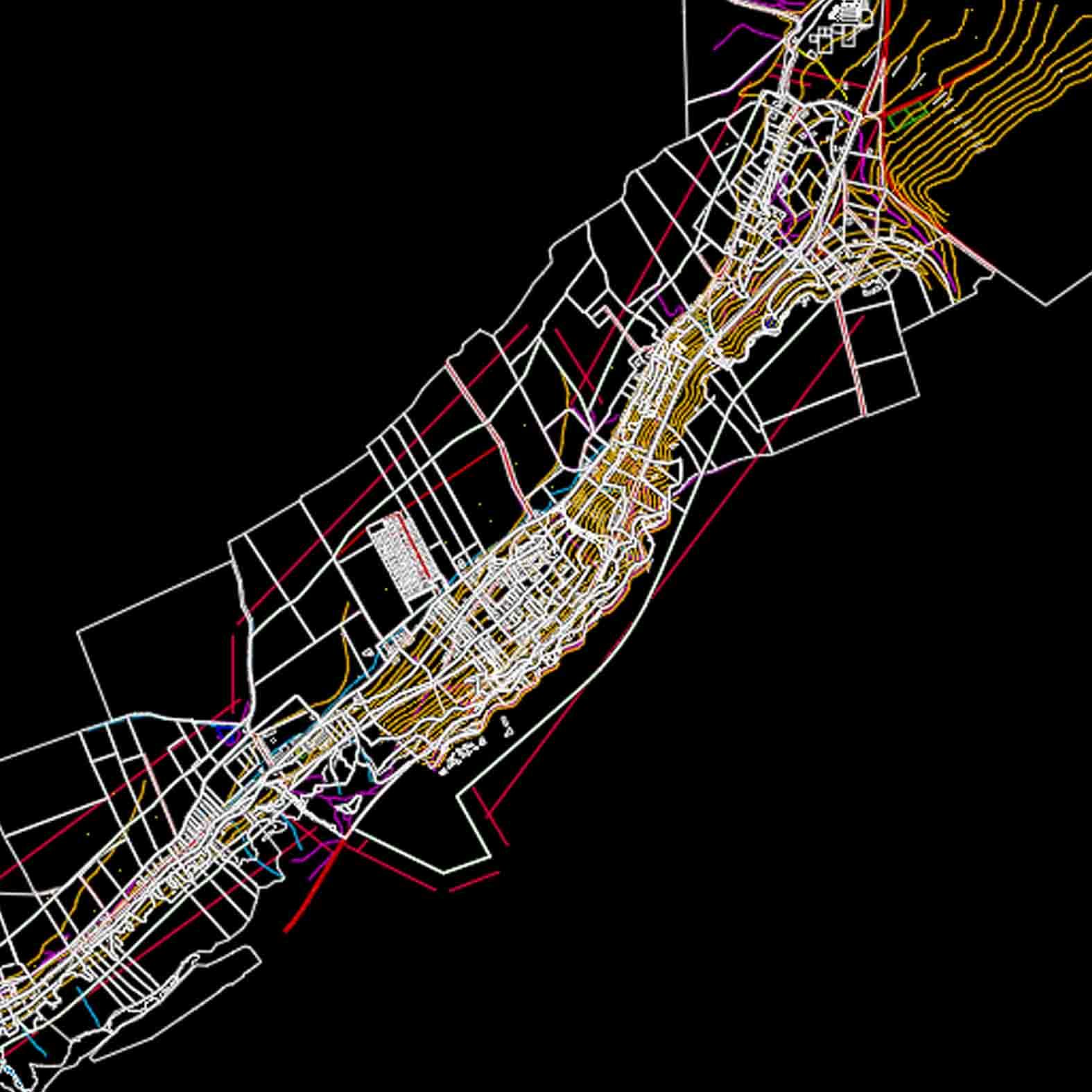 Plano: Localidad de La Chimba