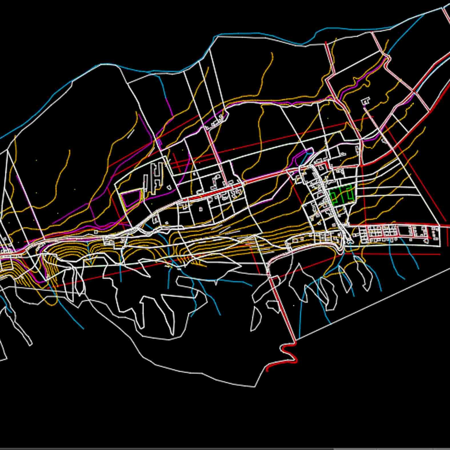 Plano: Localidad de Tabalí