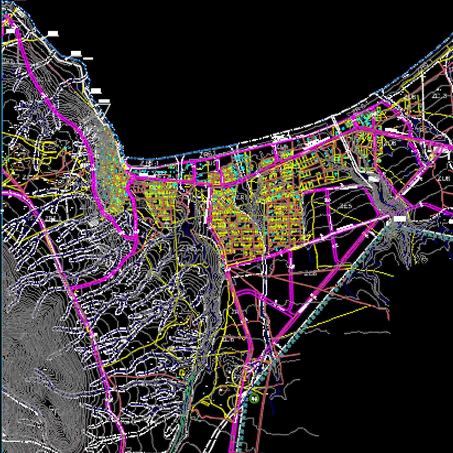 Plano: Localidad de Guanaqueros