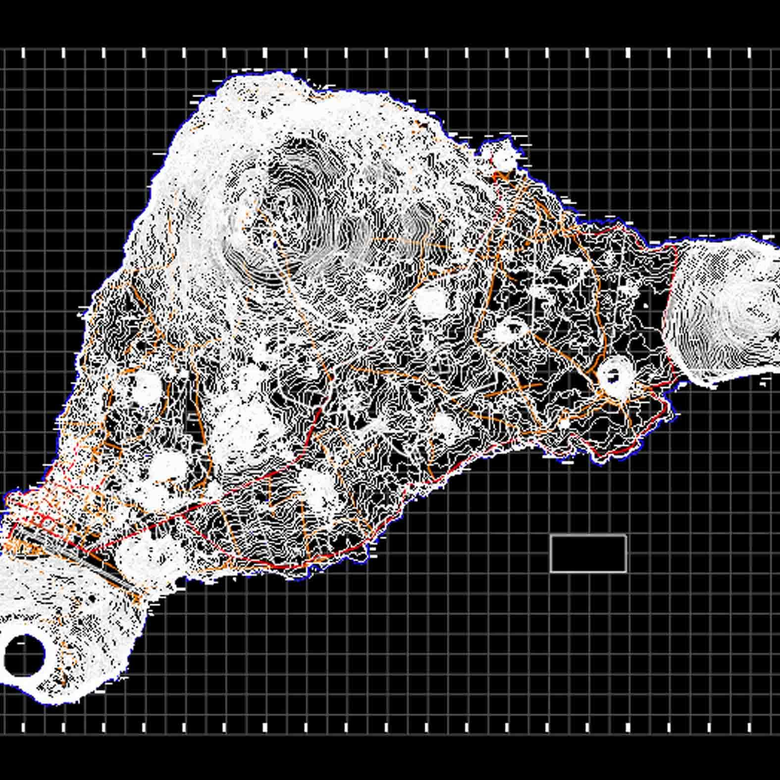 Plano: Isla de Rapa Nui