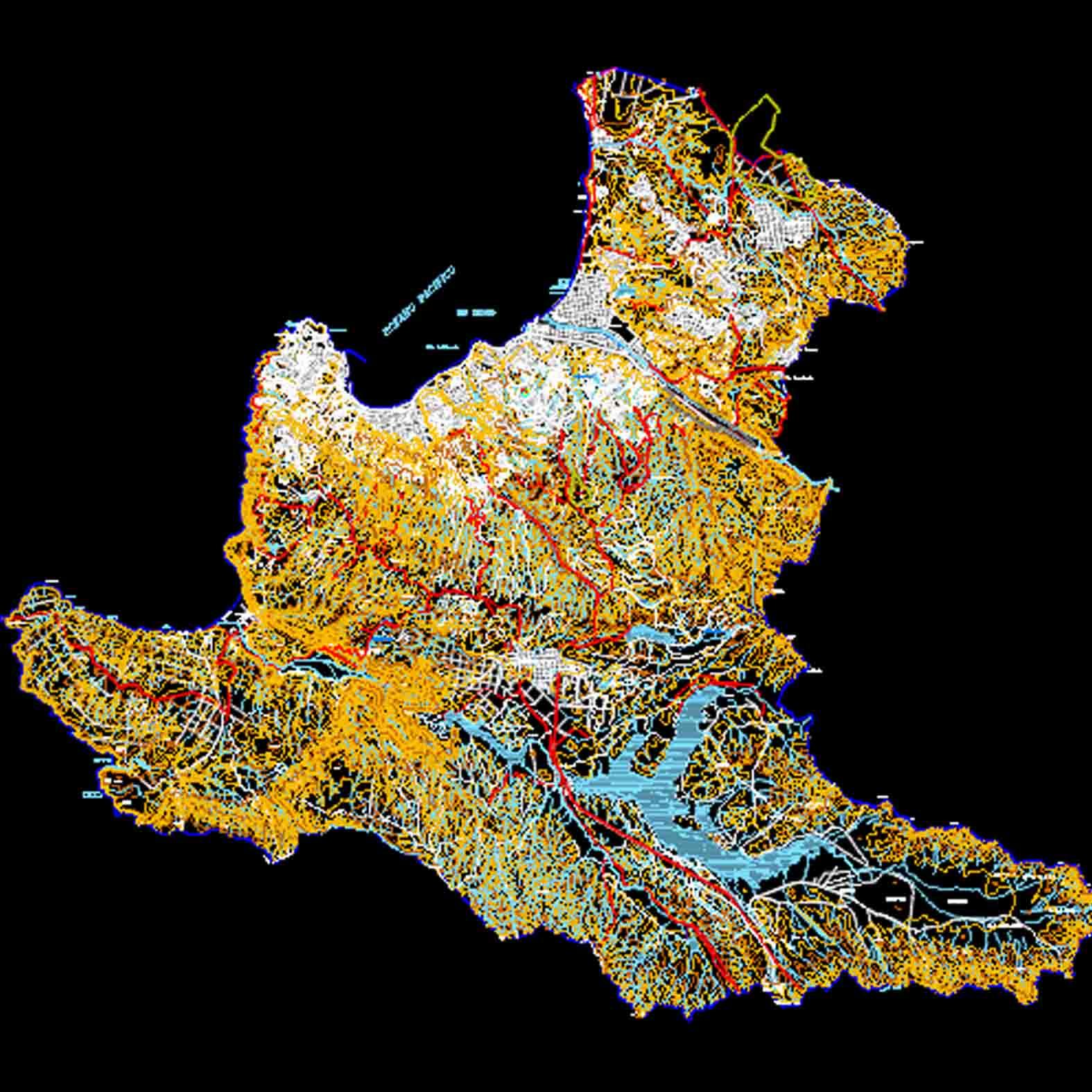 Plano: Región de Valparaíso