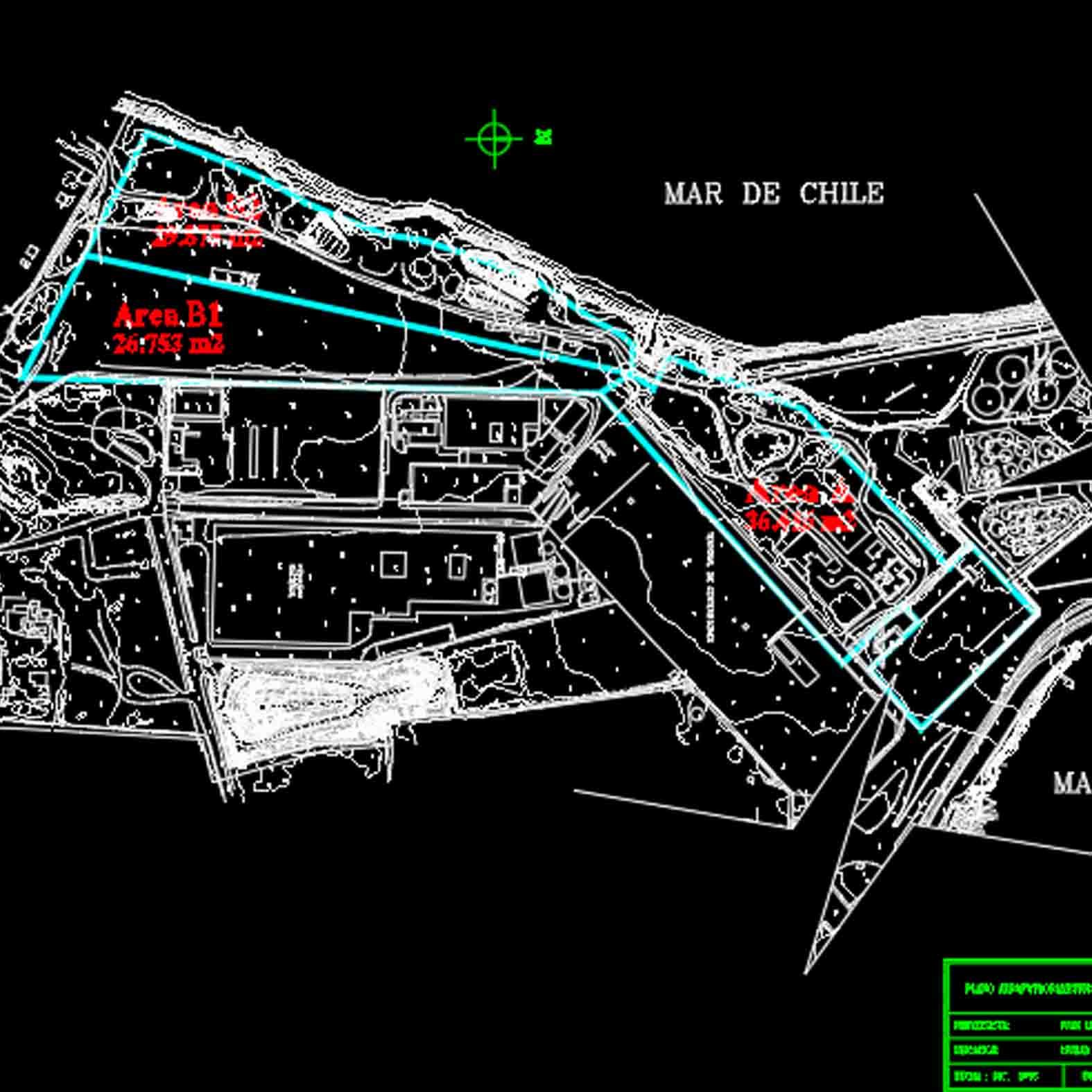 Plano: Puerto de San Antonio