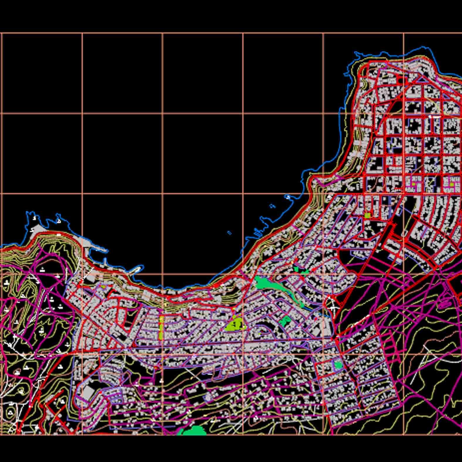 Plano: Puerto de Valparaiso