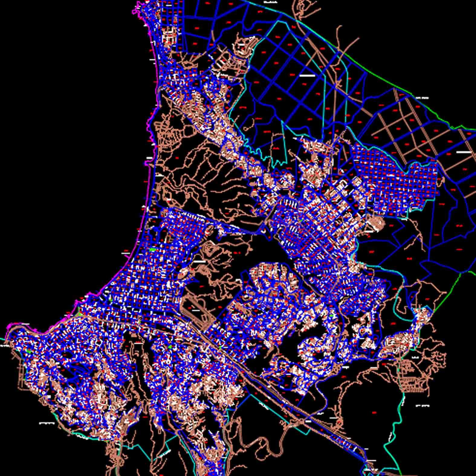 Plano: Ciudad de Viña del Mar